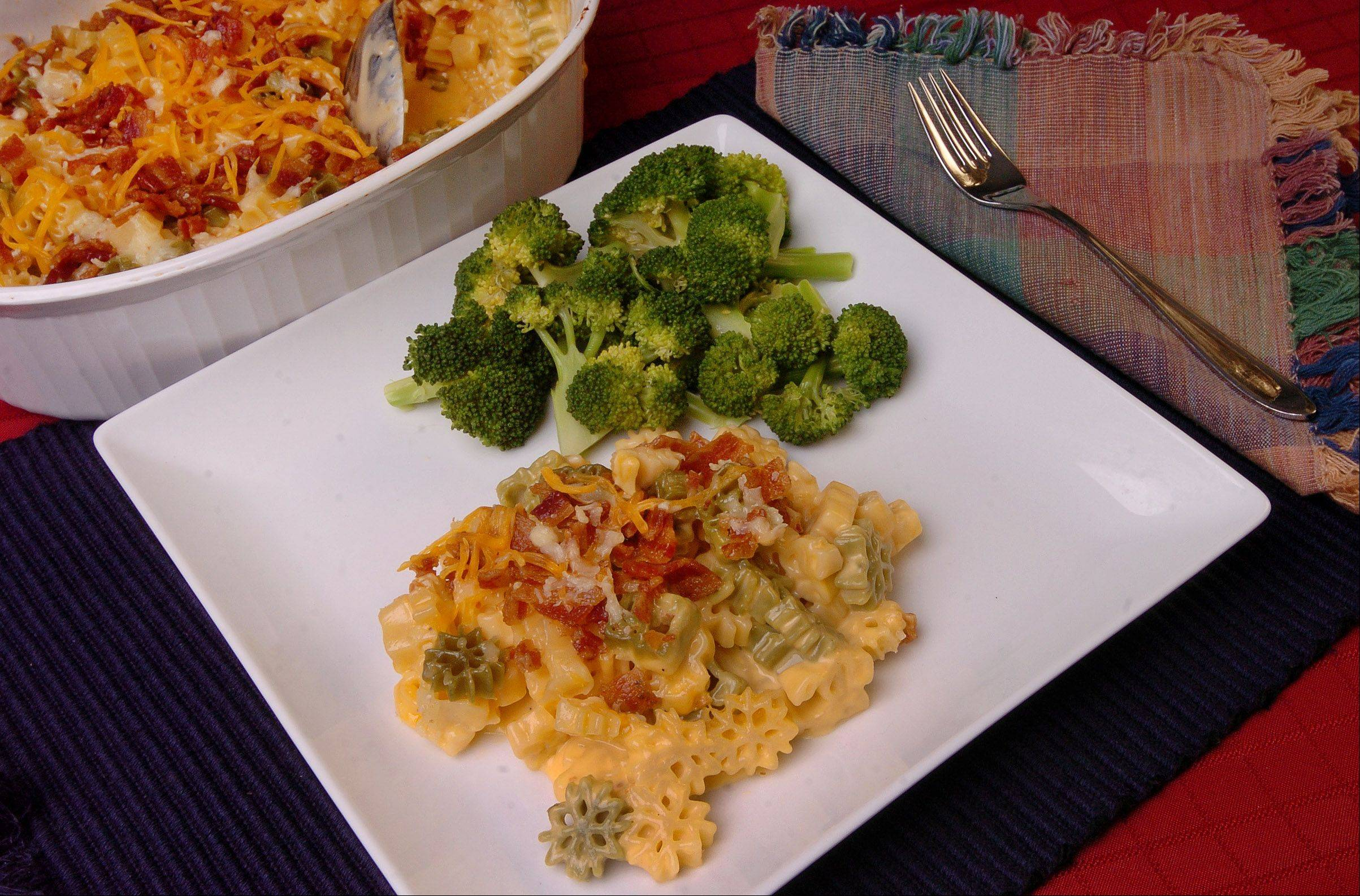 Whether you make Cheesy Bacon Mac on the stove top or in a slow-cooker, it�s seriously delicious comfort food.