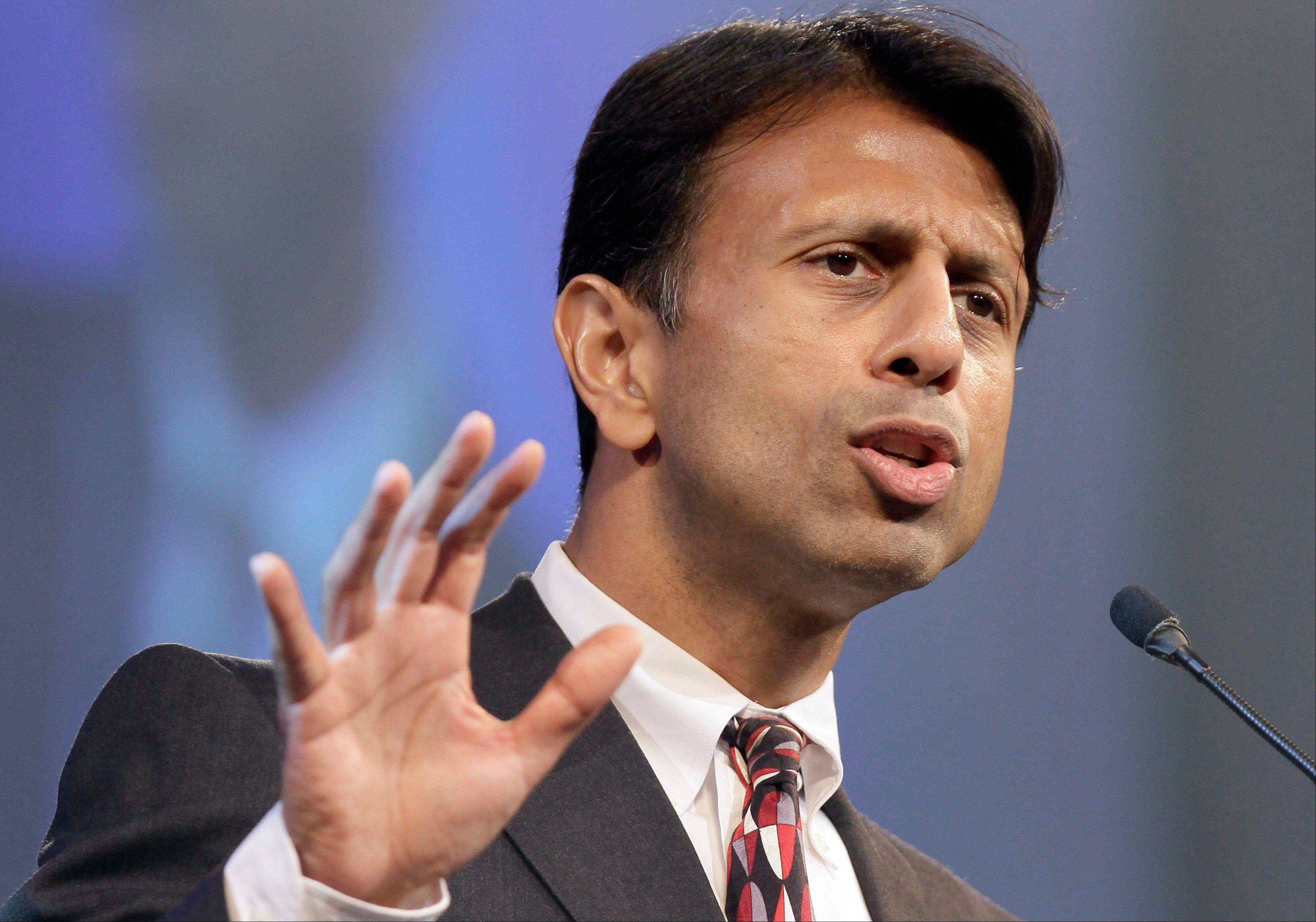 "Louisiana Gov. Bobby Jindal is calling on the Republican Party to ""recalibrate the compass of conservatism."""