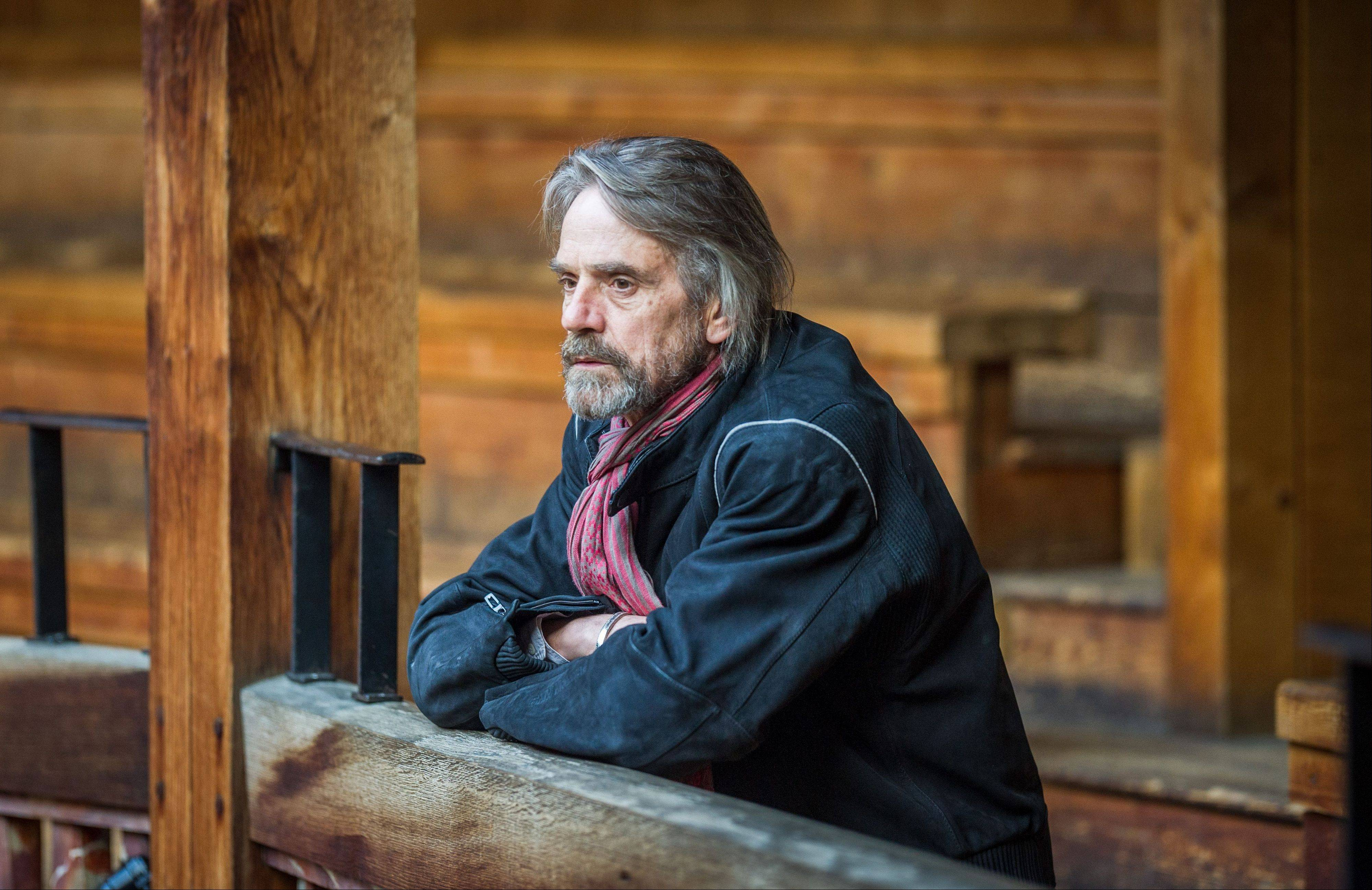 "Jeremy Irons, a host of ""Shakespeare Uncovered,"" an inventive series tracing the origins of six of the writer's plays through a combination of history, new analysis and selected scenes."