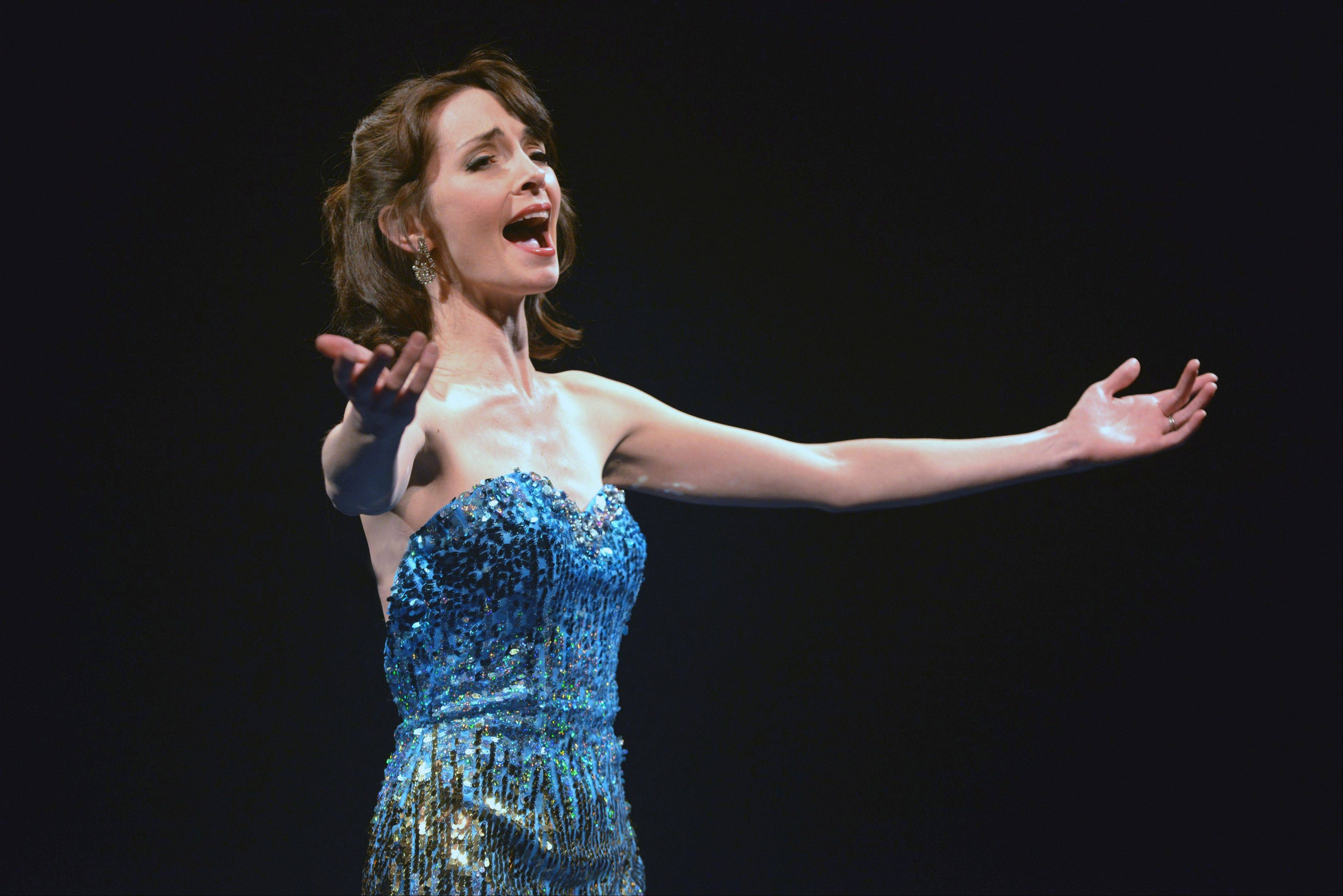 "Erin Stewart sings ""Think of Me"" from ""The Phantom of the Opera"" in the world premiere revue ""Now & Forever: The Music of Andrew Lloyd Webber"" at the Marriott Theatre in Lincolnshire."