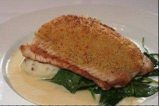 Whitefish is among the featured dishes at Catch 35 in Naperville.