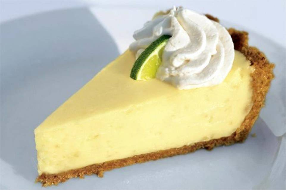 End a Chicago Restaurant Week dinner with Key lime pie at Shaw's Crab House in Schaumburg.