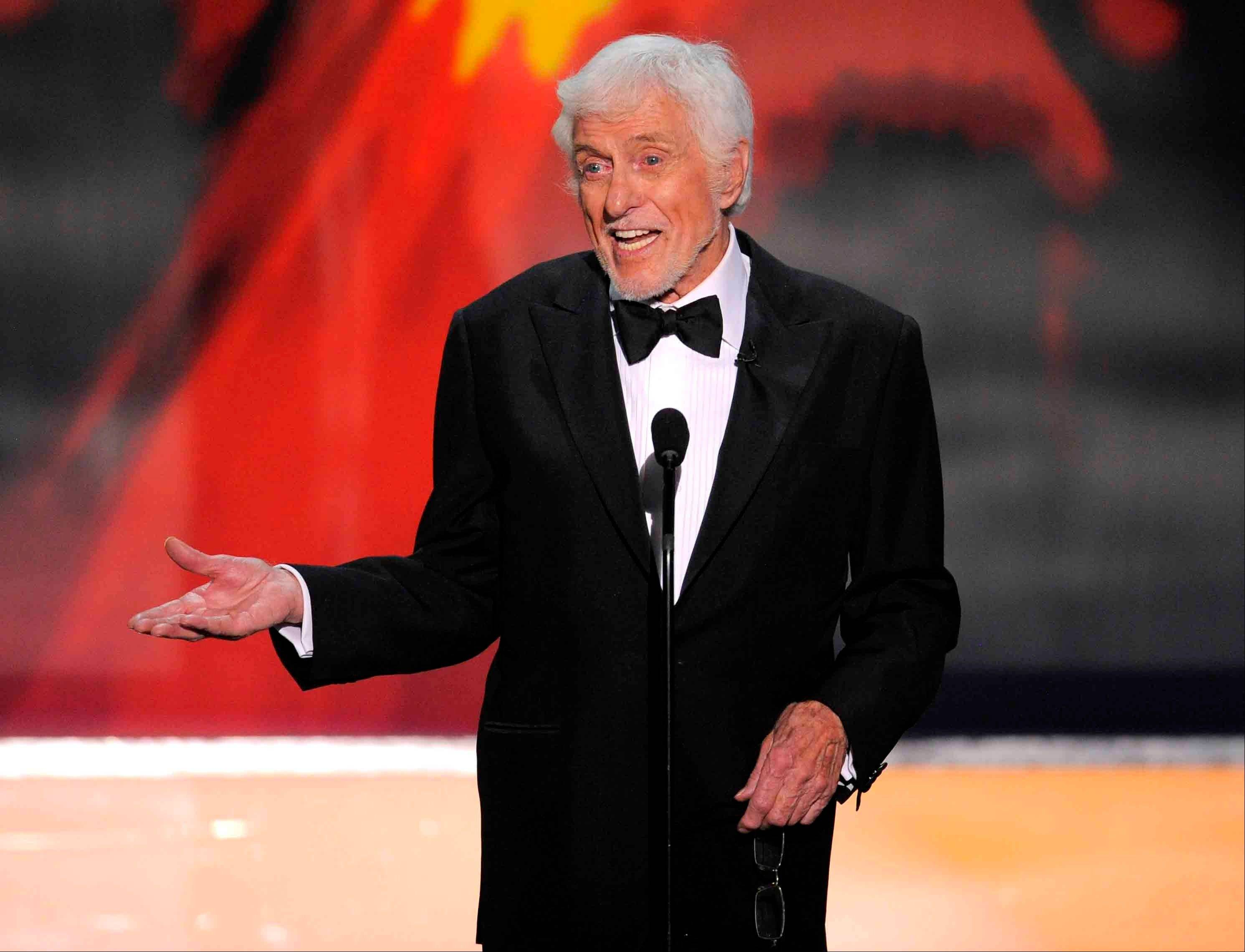 Last year, Dick Van Dyke presented the Life Achievement award onstage to Mary Tyler Moore at the 18th Annual Screen Actors Guild Awards in Los Angeles. This year, he will receive that award.