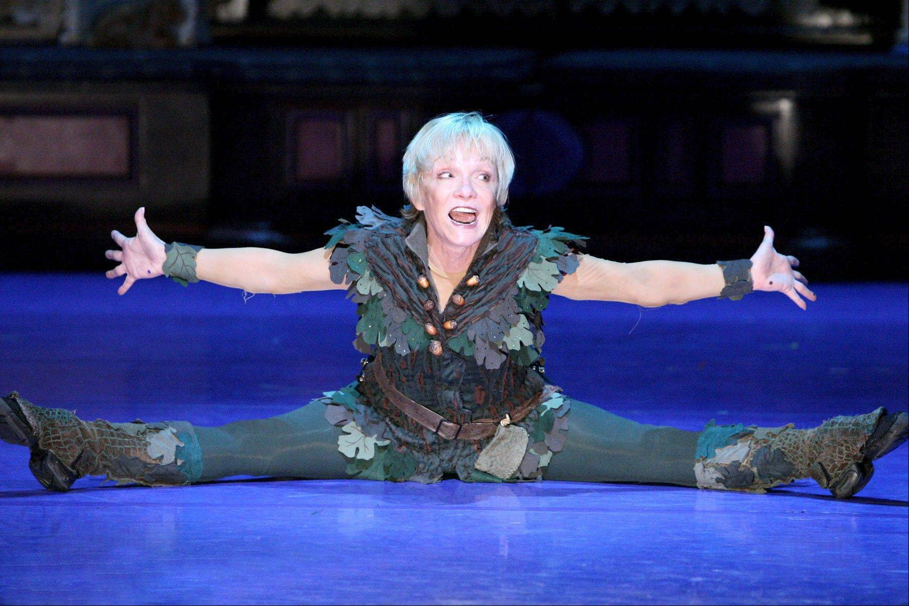 "Cathy Rigby returns to Chicago in the title role of the musical ""Peter Pan"" at the Cadillac Palace Theatre from Wednesday, Jan. 30, through Sunday, Feb. 10."