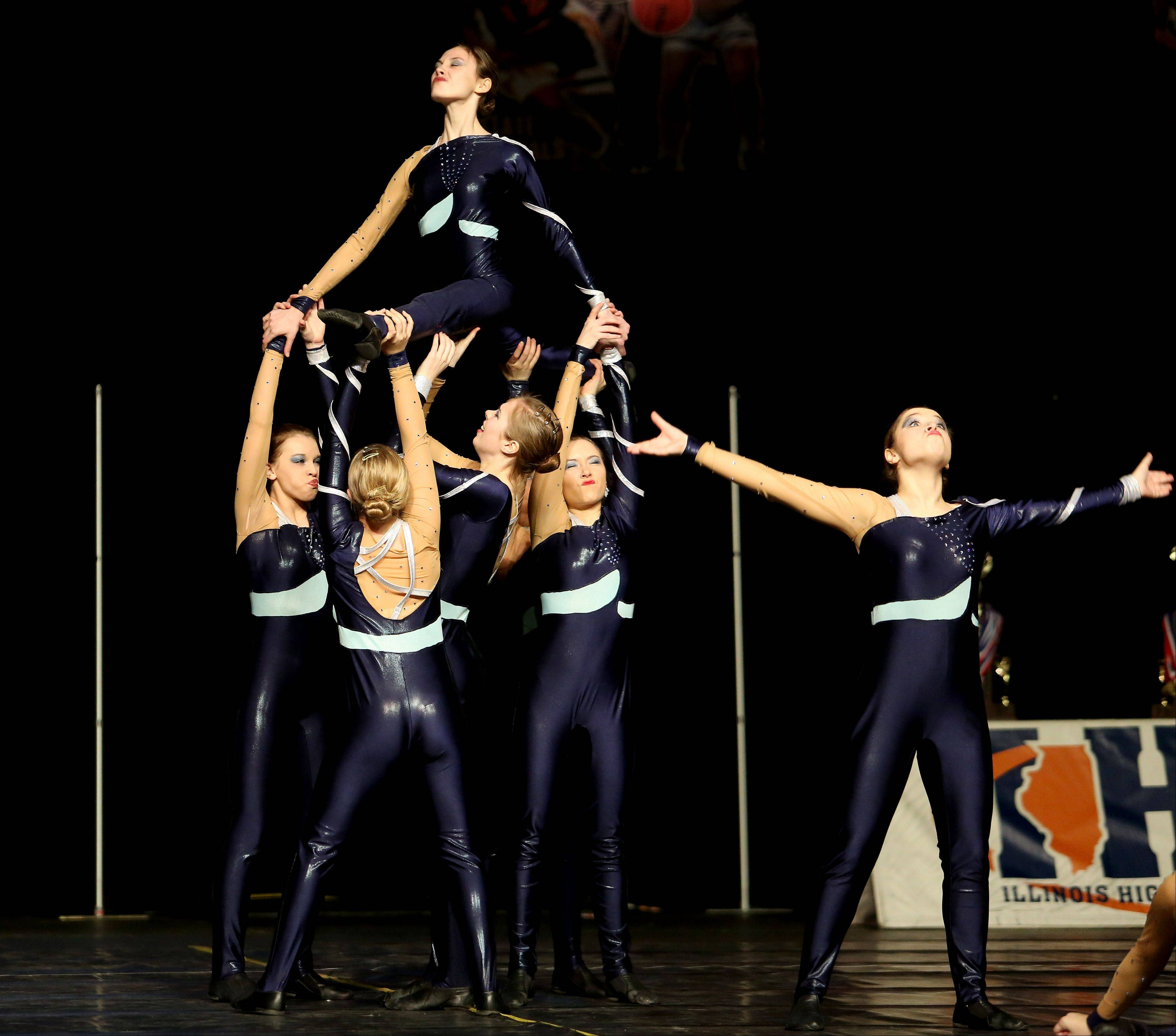 Fremd performs in the state dance preliminaries on Friday in Bloomington.
