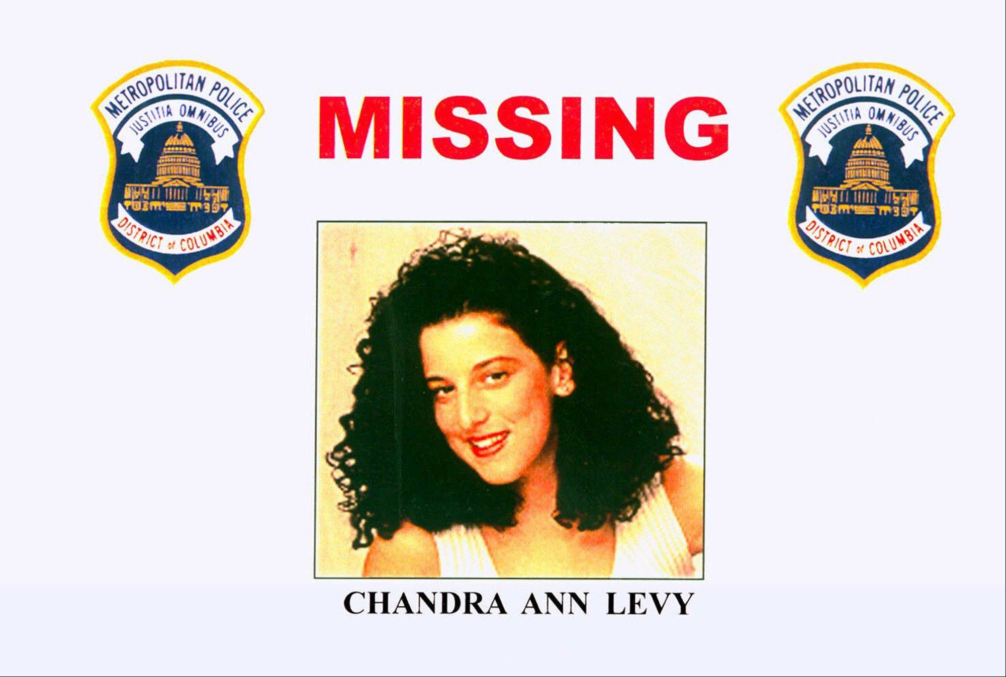 This 2001 file photo provided by the Washington Police Department shows the missing poster of Chandra Ann Levy, of Modesto, Calif. A judge is holding secret hearings in the case of the man convicted in the 2001 killing of Washington intern Levy. Neither prosecutors nor defense lawyers have revealed the purpose of the hearings, which have been taking place in Washington behind closed doors. Several media organizations, including The Associated Press, are petitioning to open the proceedings.