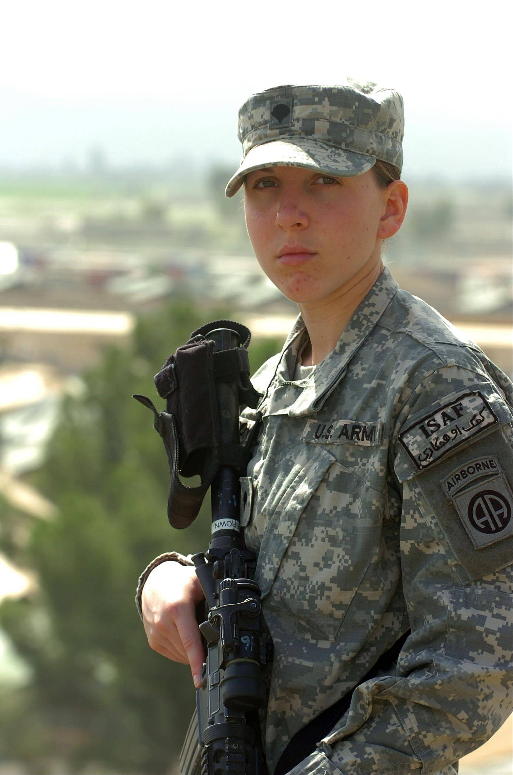 March 20, 2008: Army Spc. Monica Brown, a medic from the 782nd Brigade Support Battalion, 4th Brigade Combat Team, 82nd Airborne Division, is the second female since World War II to earn the Silver Star award for her actions while in combat.