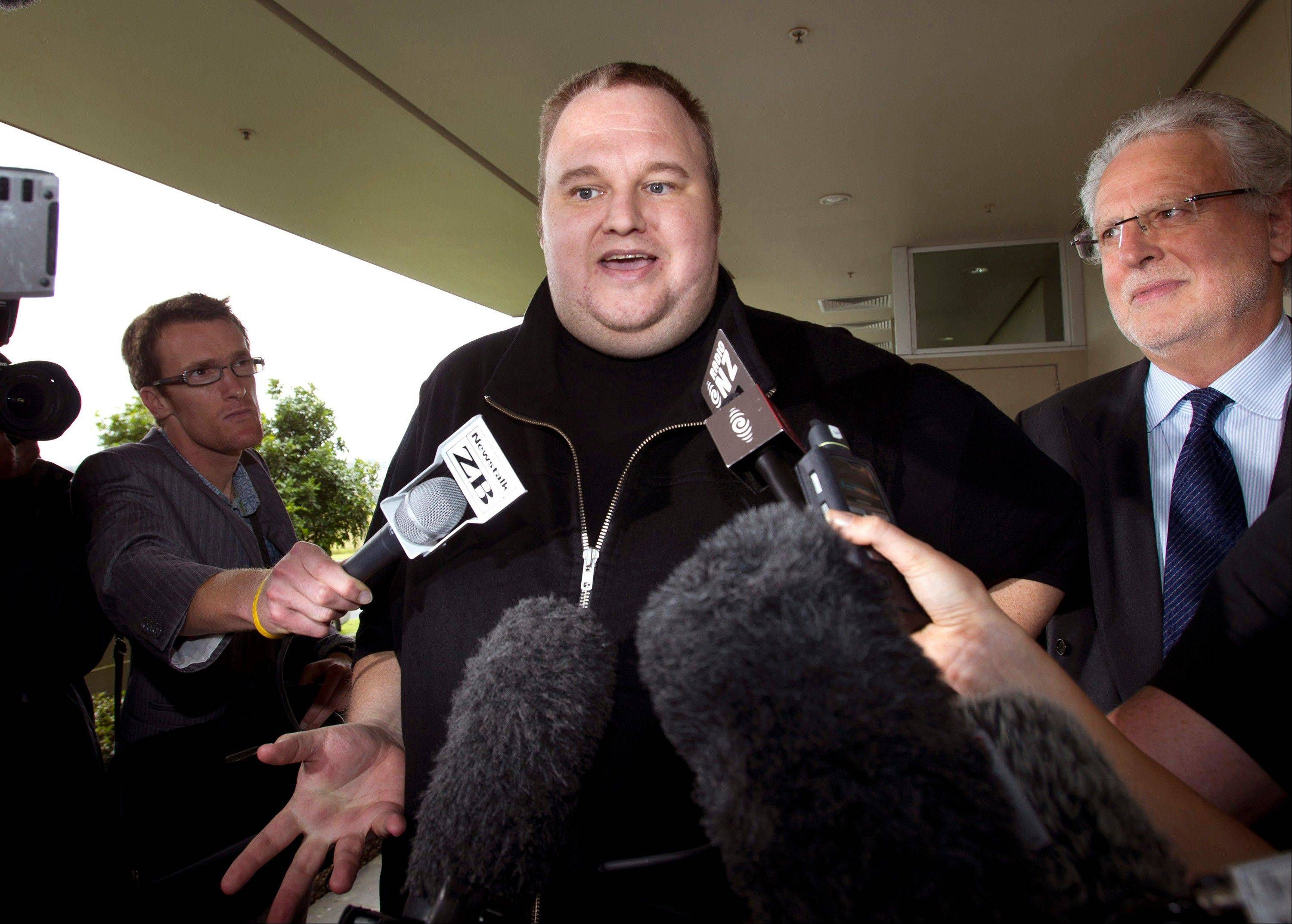 "Indicted Megaupload founder Kim Dotcom has launched a new file-sharing website in a defiant move against the U.S. prosecutors who accuse him of facilitating massive online piracy. The colorful entrepreneur unveiled the ""Mega"" site ahead of a lavish gala and news conference planned at his New Zealand mansion on Sunday night."