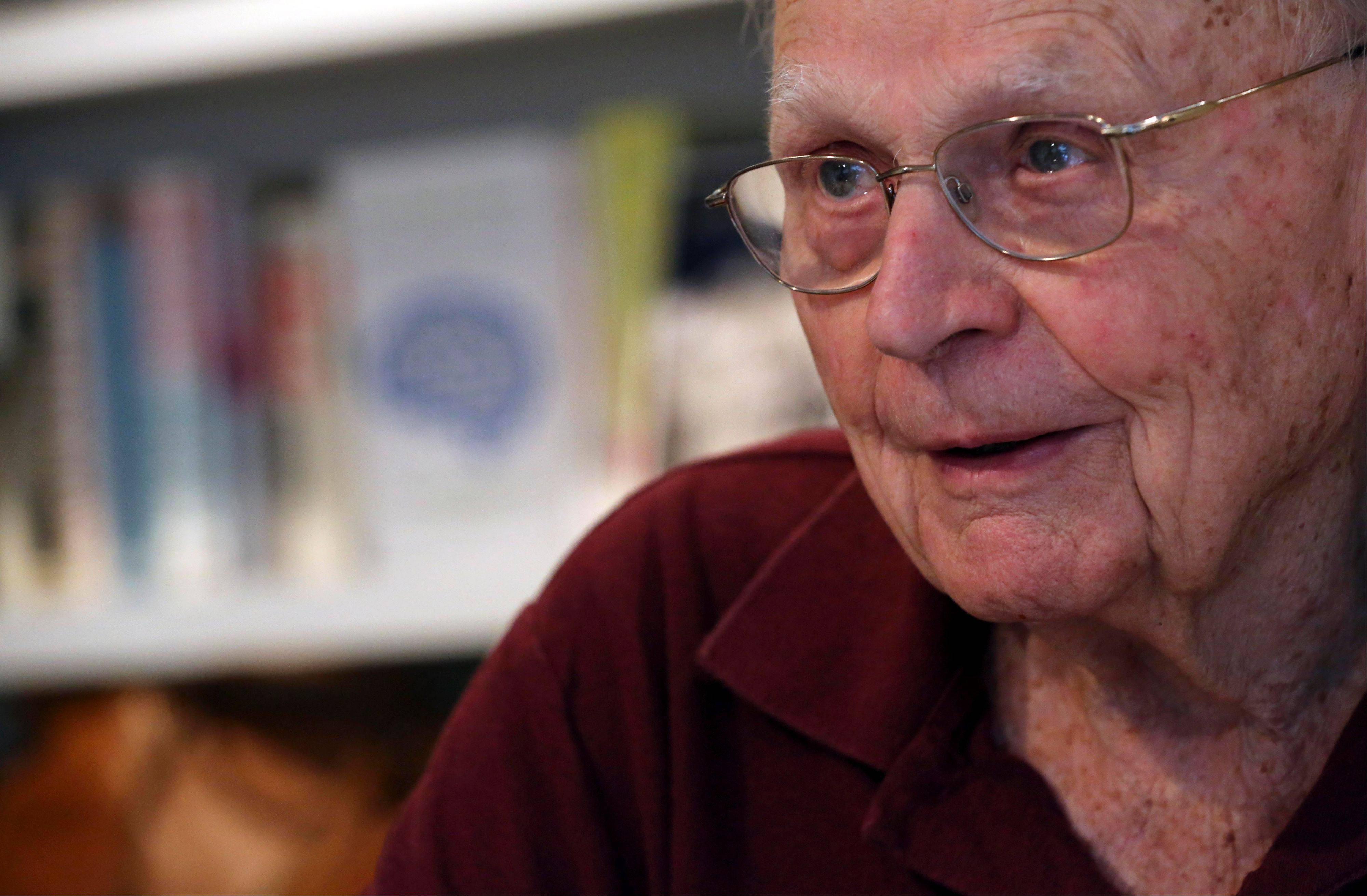 Literary agent Sterling Lord speaks during an interview in his New York office. Lord is now 92-years-old and still keeps regular hours, at the bright, downtown offices of Sterling Lord Literistic Inc. His clients have ranged from ack Kerouac and Ken Kesey to the creators of the Berenstain Bears. He has lunched with Jackie Kennedy, played tennis with Katherine Graham and had the will to say no to Lyndon Johnson when the president was seeking help to get a book deal.