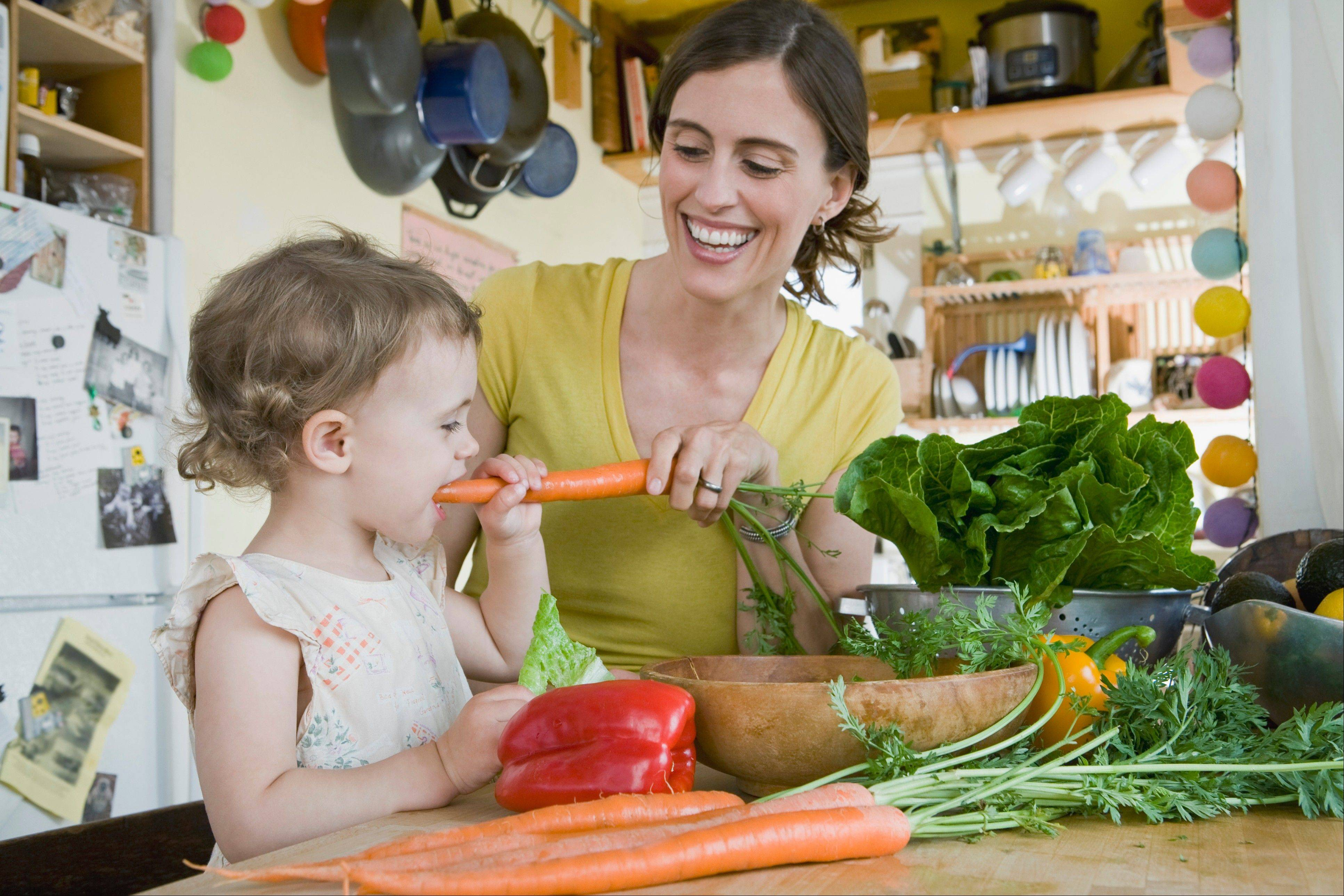 It's good to have vegetables on hand to offer your children when they need a snack, or want seconds at dinner.