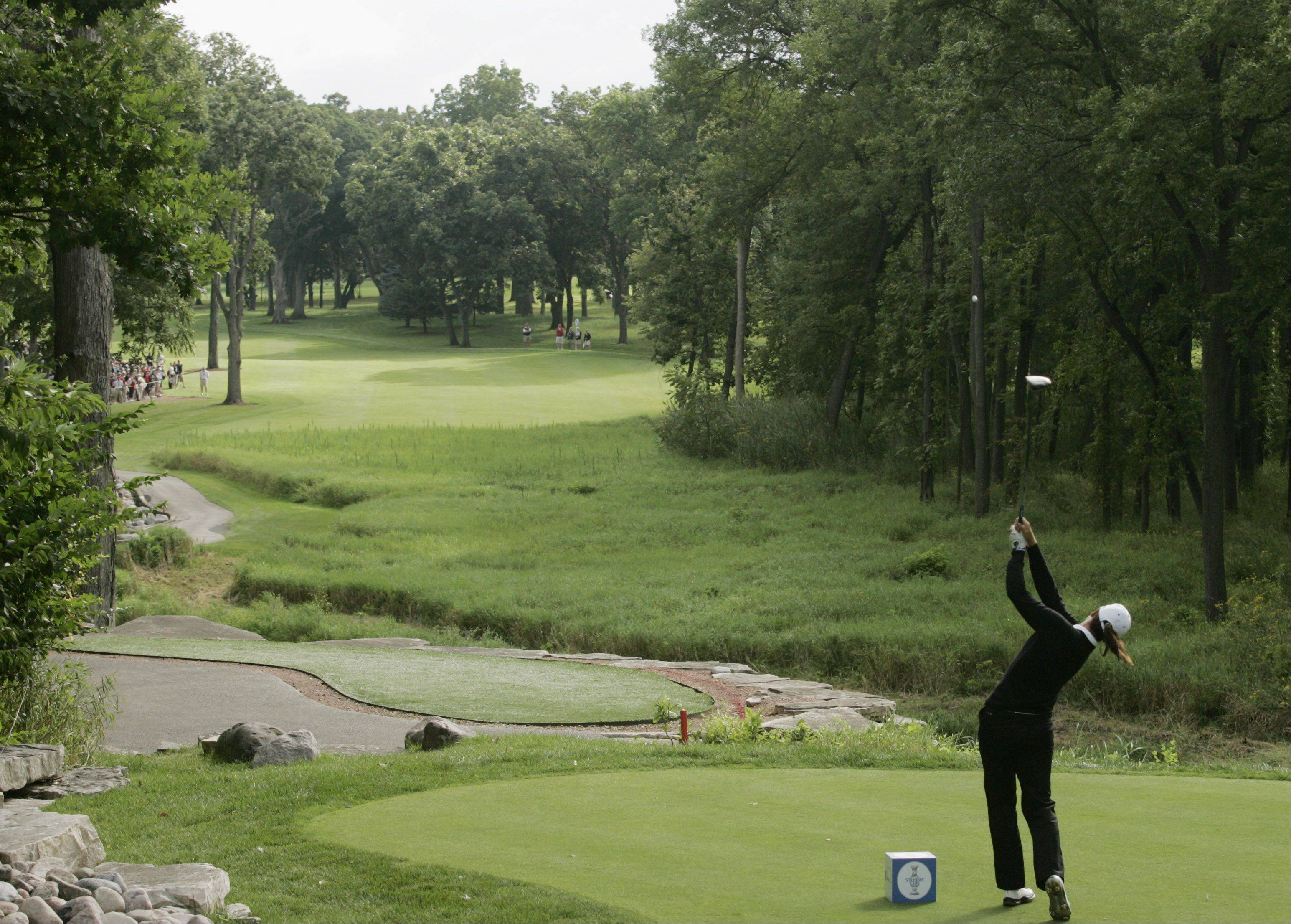 The picturesque Rich Harvest Farms was site of the 2009 Solheim Cup. The course has been picked to host a new LPGA event in 2016.
