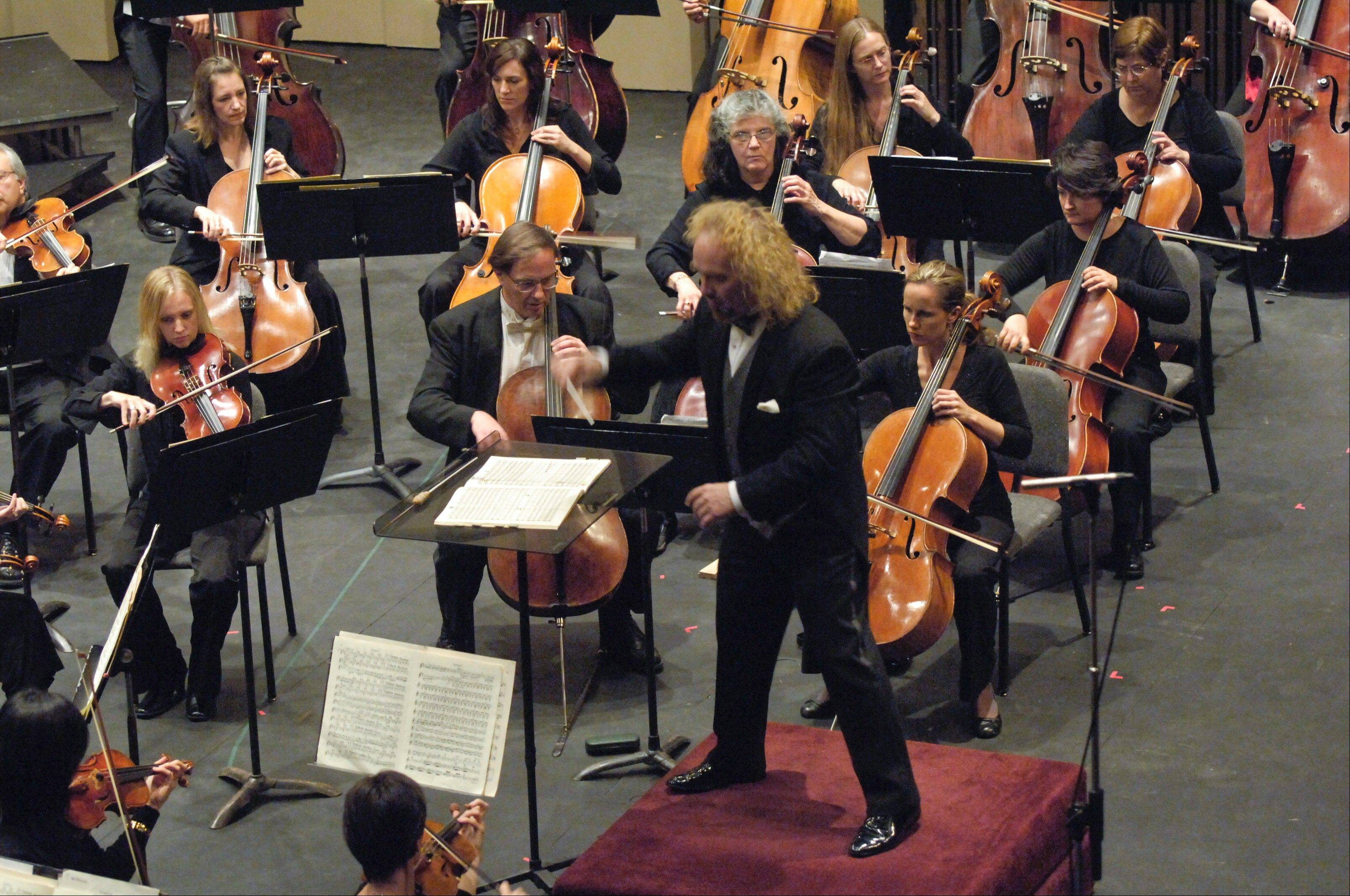 Conductor Kirk Muspratt of the New Philharmonic says the group is hopeful patrons will support the group financially to ensure it remains at the McAninch Arts Center at the College of DuPage.