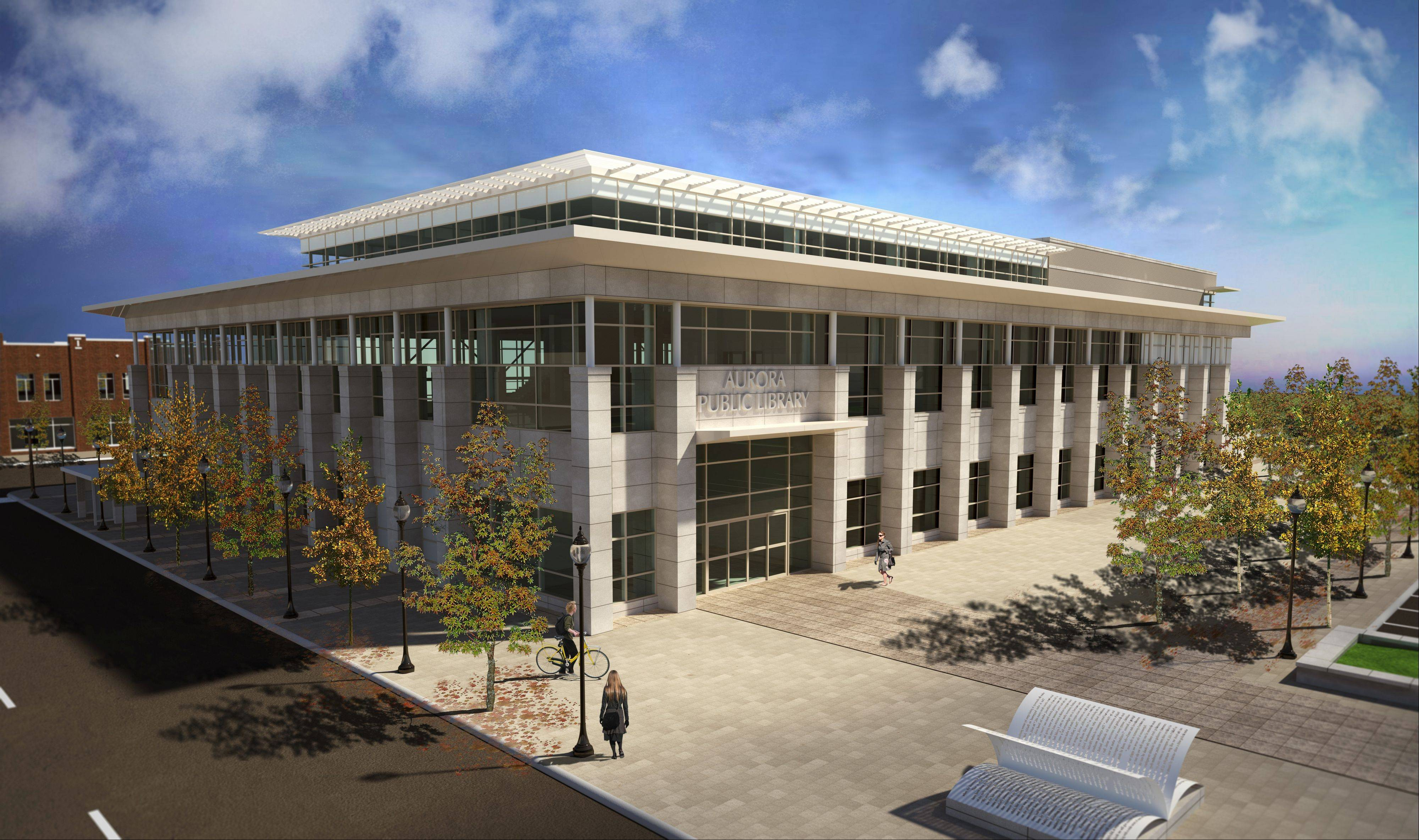 Aurora gets $10.8 million grant to fund new library