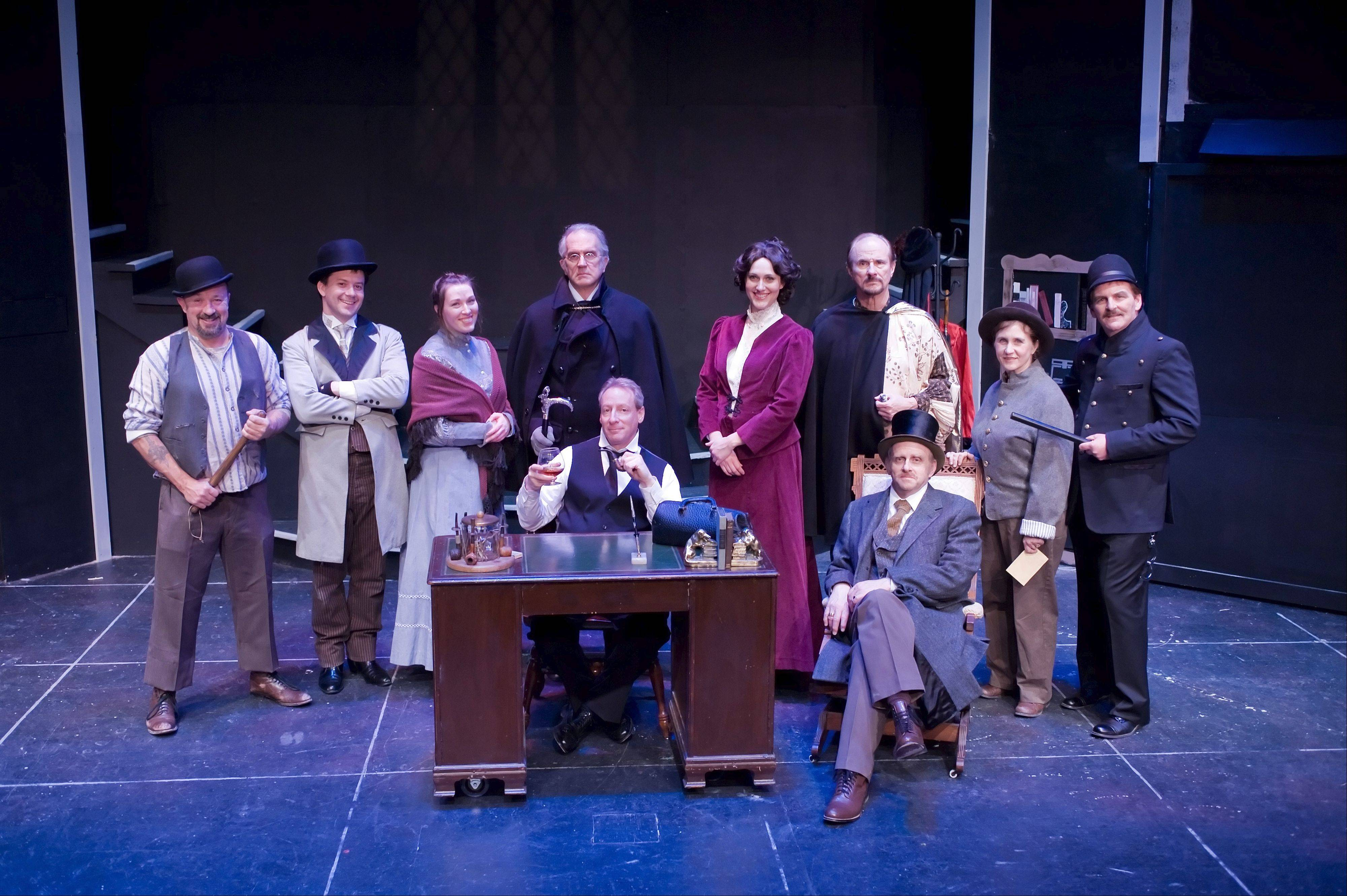 """Sherlock Holmes: The Final Adventure"" continues through Feb. 17 at Wheaton Drama's Playhouse 111."