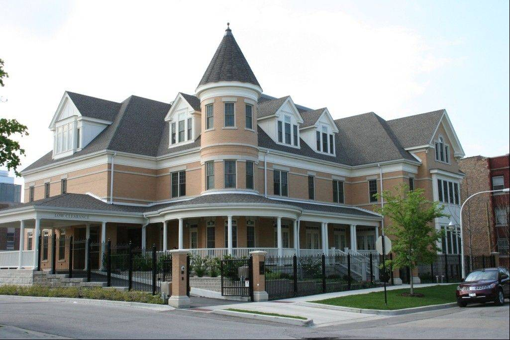 Ronald McDonald House near University of Chicago Comer Children's Hospital.