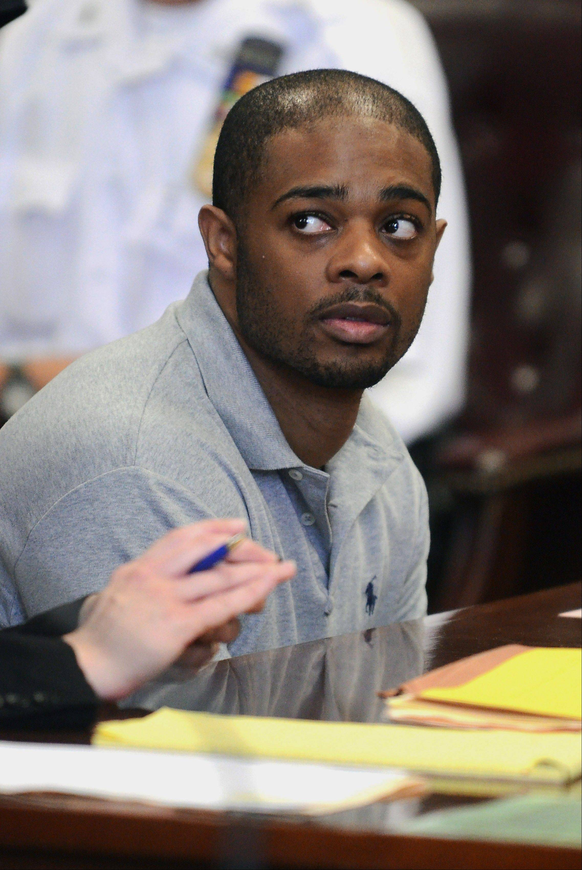 Marque Gumbs plead guilty to grand larceny in Manhattan Supreme Court in New York. Gumbs, who worked for Memorial Sloan-Kettering Cancer, financed his lavish lifestyle by selling toner for copiers and printers that he stole from the hospital.