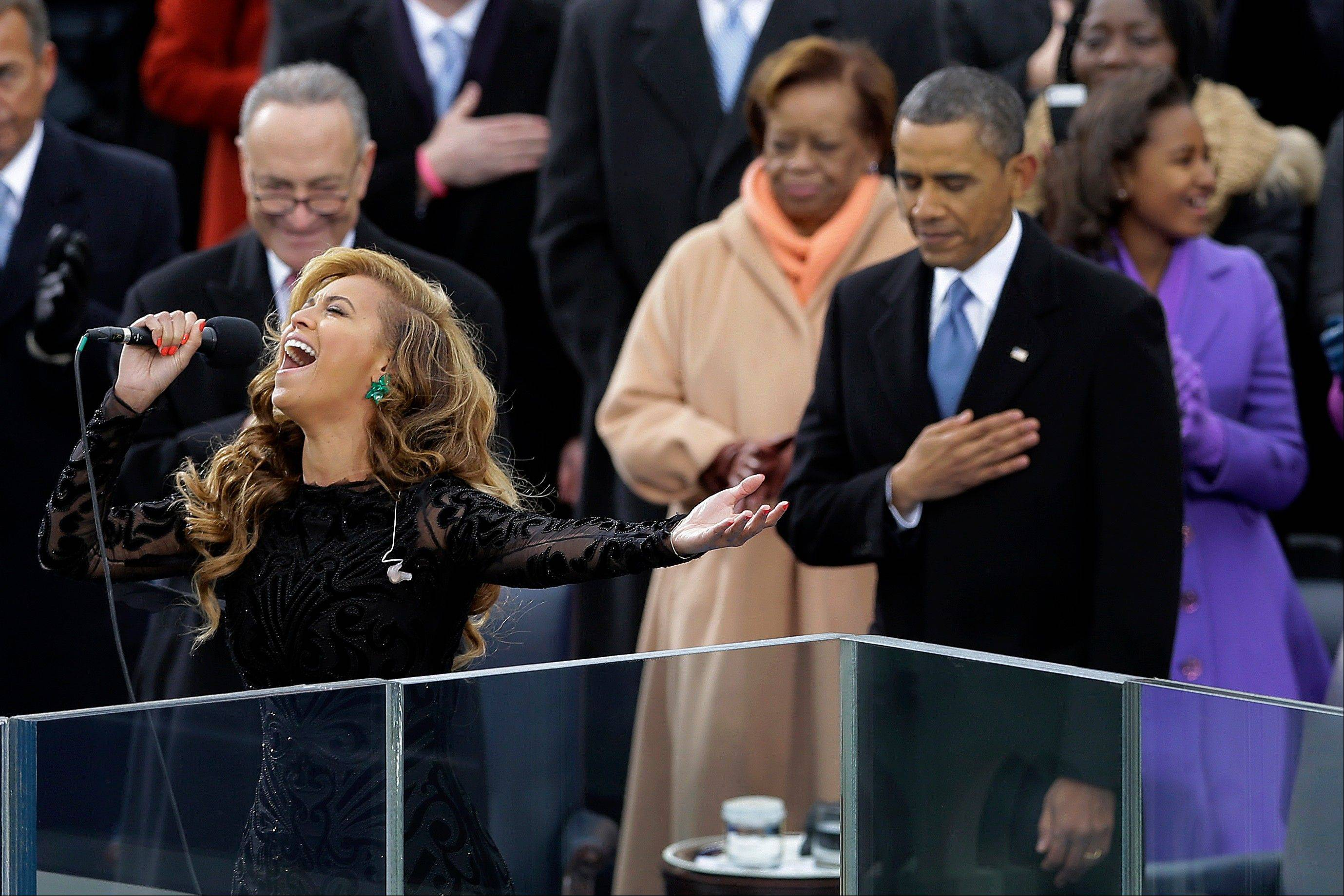 Whether Beyonc� actually sang at the inauguration of President Barack Obama is a tempest in a teapot, but dig deeper and it reveals something about American society at this moment. In small ways, we seem to be constantly learning that the things we see and experience aren�t exactly what they�re billed to be � and that we may not care all that much.