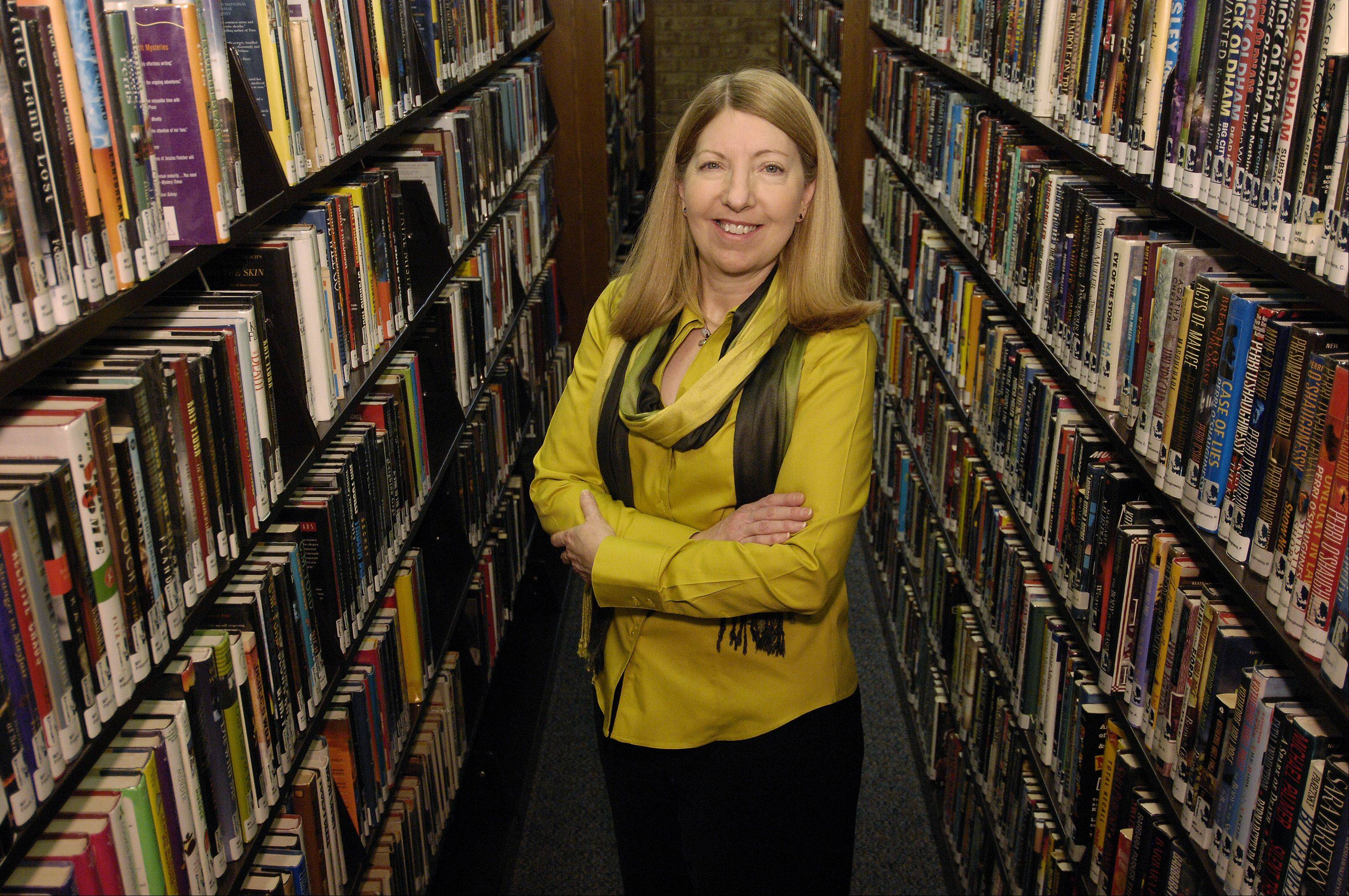 New Carol Stream Library Director Susan Westgate, whose first day was Monday, says she wants to change the negative perception some may have of the library.