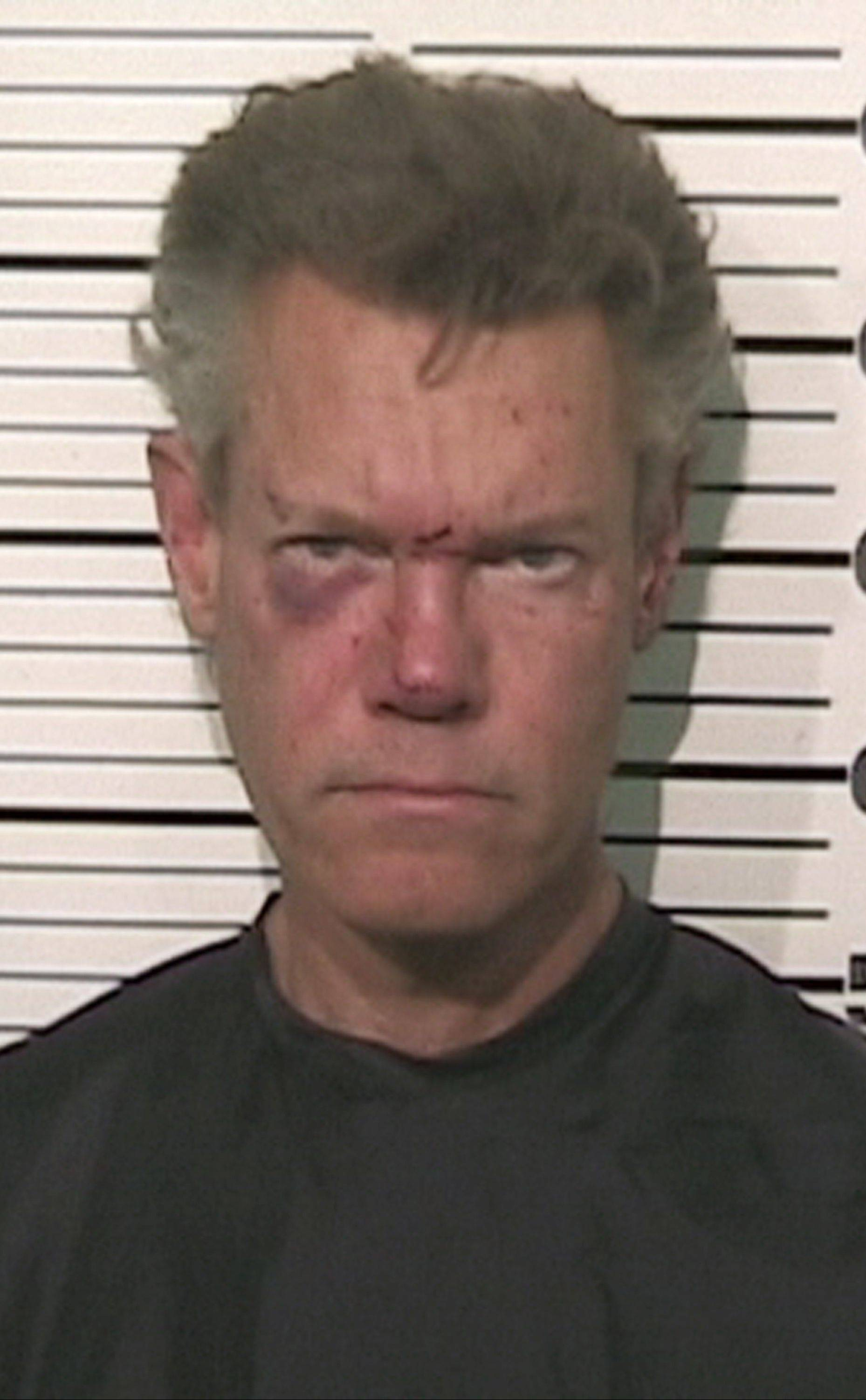This file photo provided by the Grayson County, Texas, Sheriff�s Office shows Country singer Randy Travis. A prosecutor says the country music star is expected to enter a guilty plea in a drunken-driving case in North Texas.