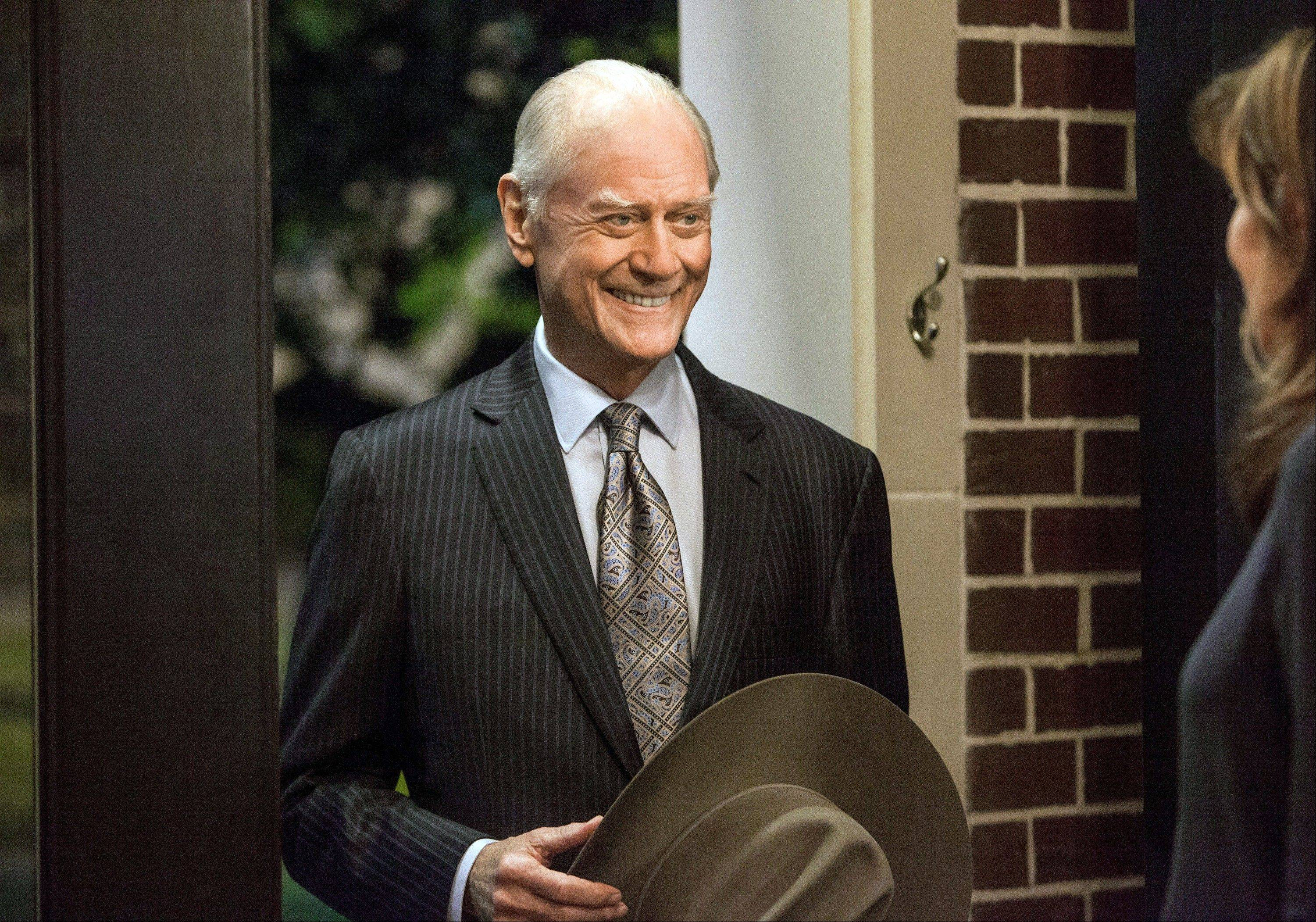 "With its two-hour season premiere Monday, ""Dallas"" carries on in familiar fashion, even though Larry Hagman, who played J.R. Ewing, died of cancer at 81 the day after Thanksgiving."