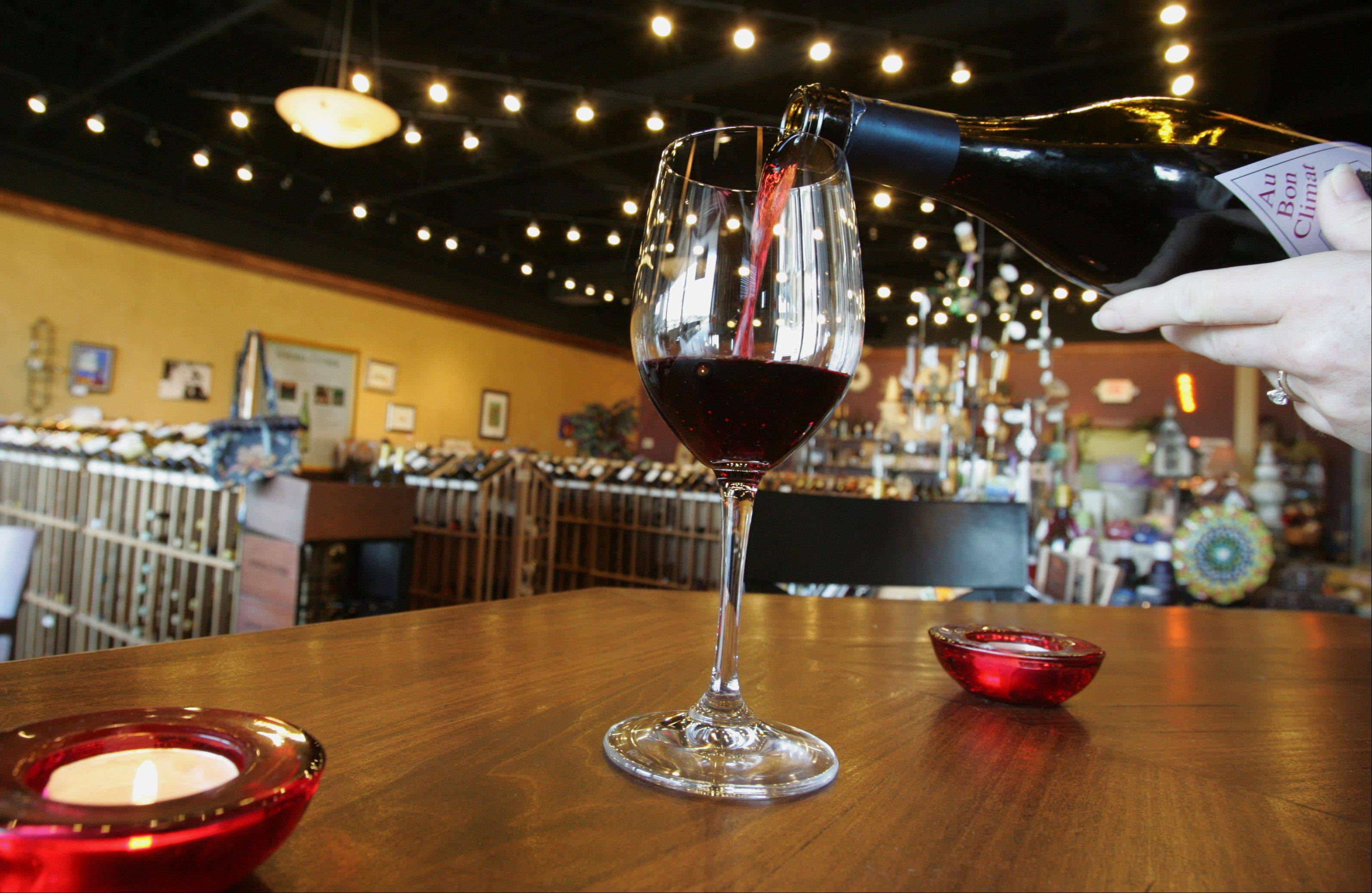 Gibby's Wine Den in Geneva will offer wine-tasting classes through Waubonsee Community College.