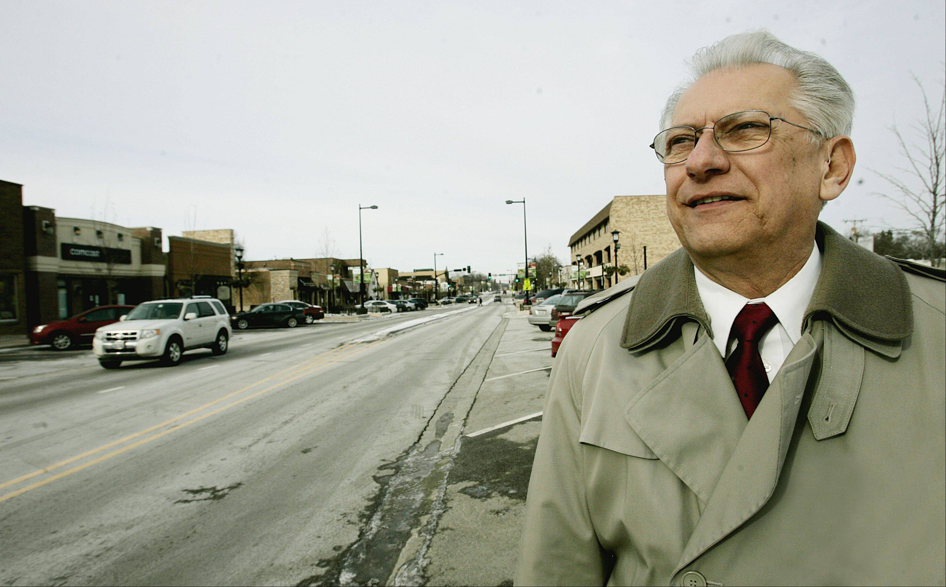 Lisle Mayor Joe Broda is singing the praises of the village's business development.