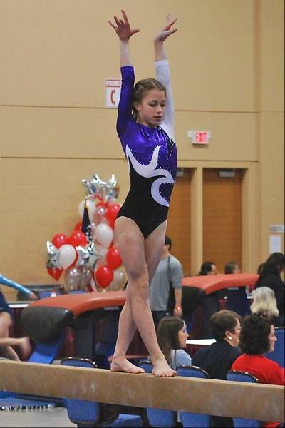Ultimate Gymnastics Of Gurnee Girls Shine At St Jude Meet