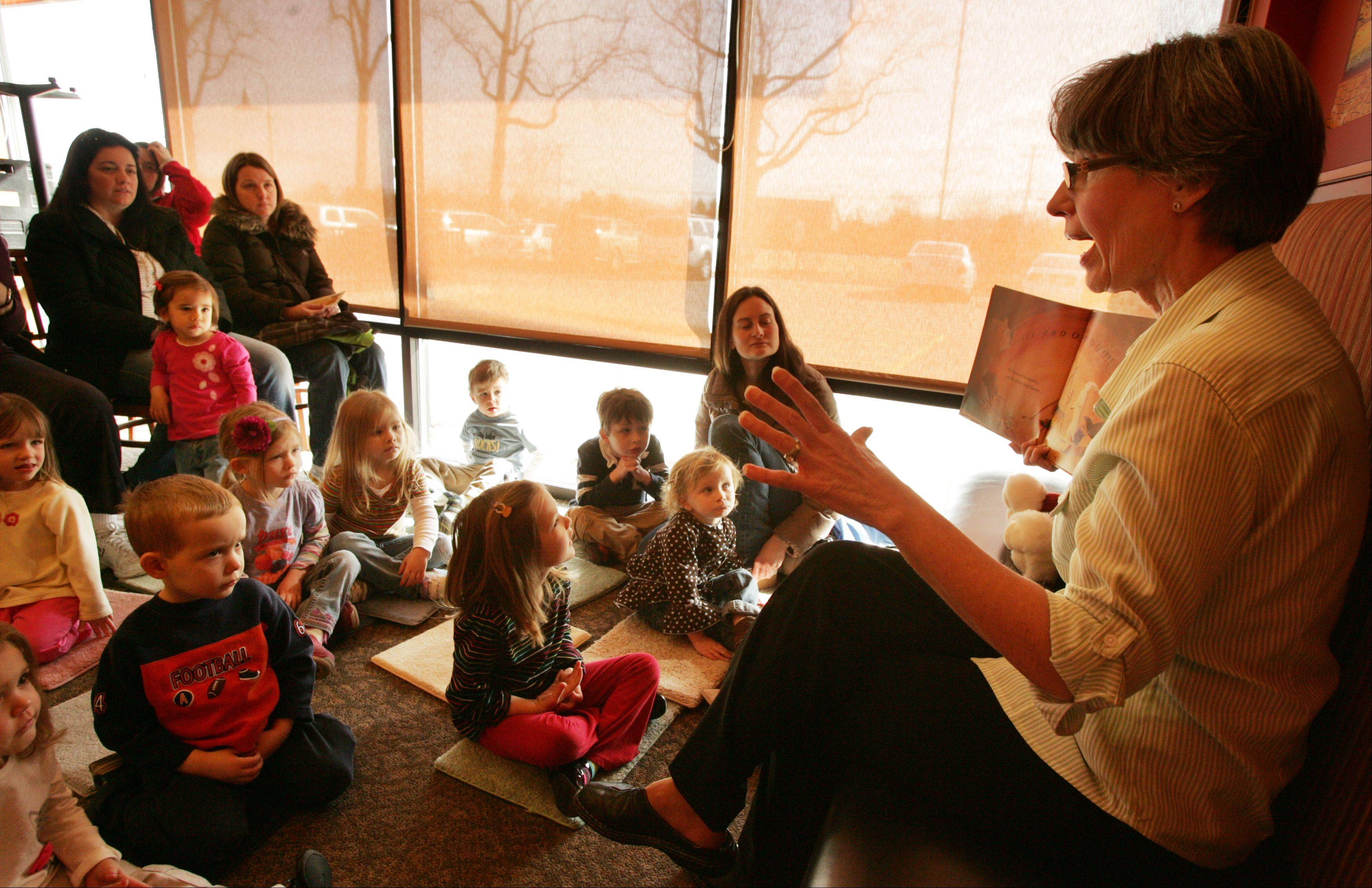 The Fox River Valley Public Library's popular Milk and Cookie Storytime will meet in February and March at Panera Bread on Randall Road in Elgin.
