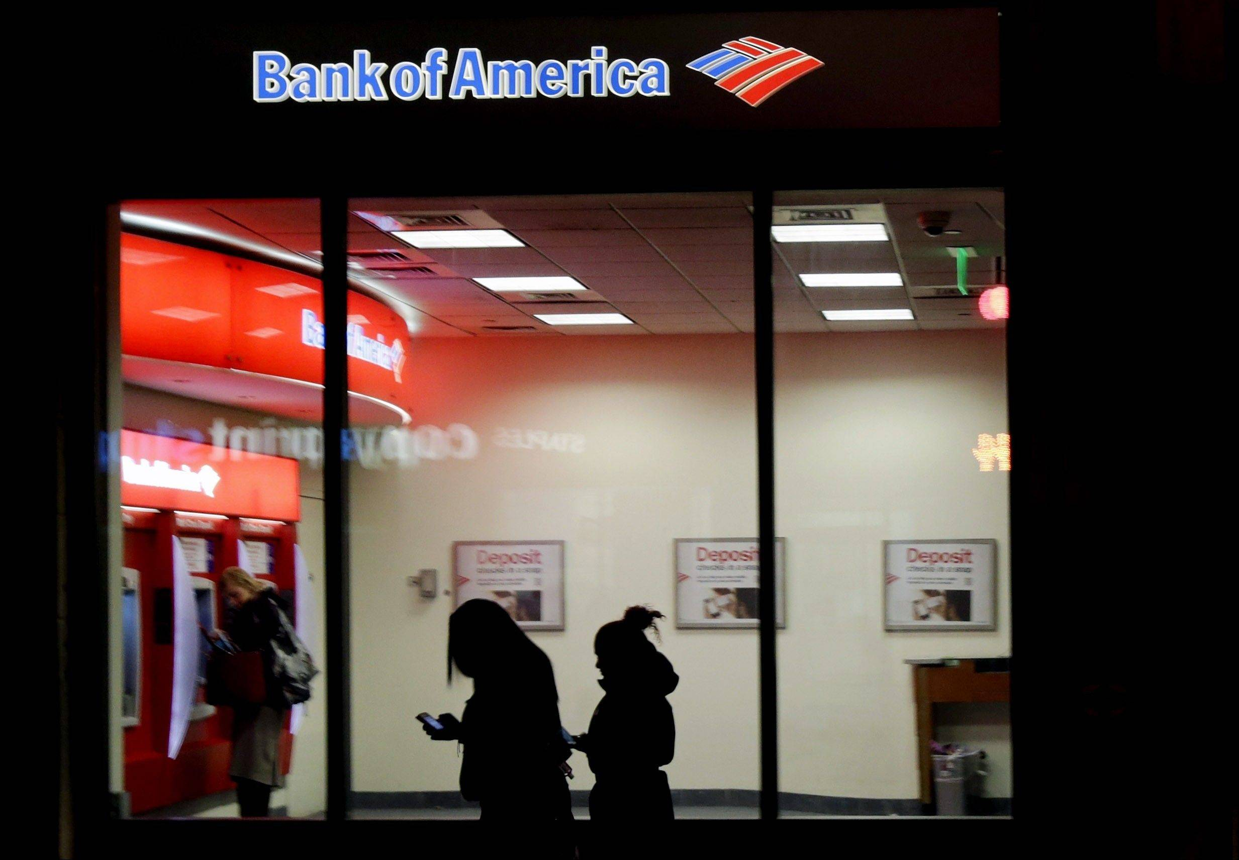 People use a Bank of America ATM in Boston. Banks including JPMorgan Chase, U.S. Bancorp and Bank of America seized on government payments for unemployment compensation as a business opportunity and pitched card programs to many states. However to cover the costs of the programs, banks have hit all card users with a plethora of new fees.