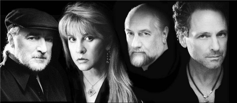 Fleetwood Mac's John McVie, left, Stevie Nicks, Mick Fleetwood and Lindsey Buckingham are coming back to Rosemont in June.