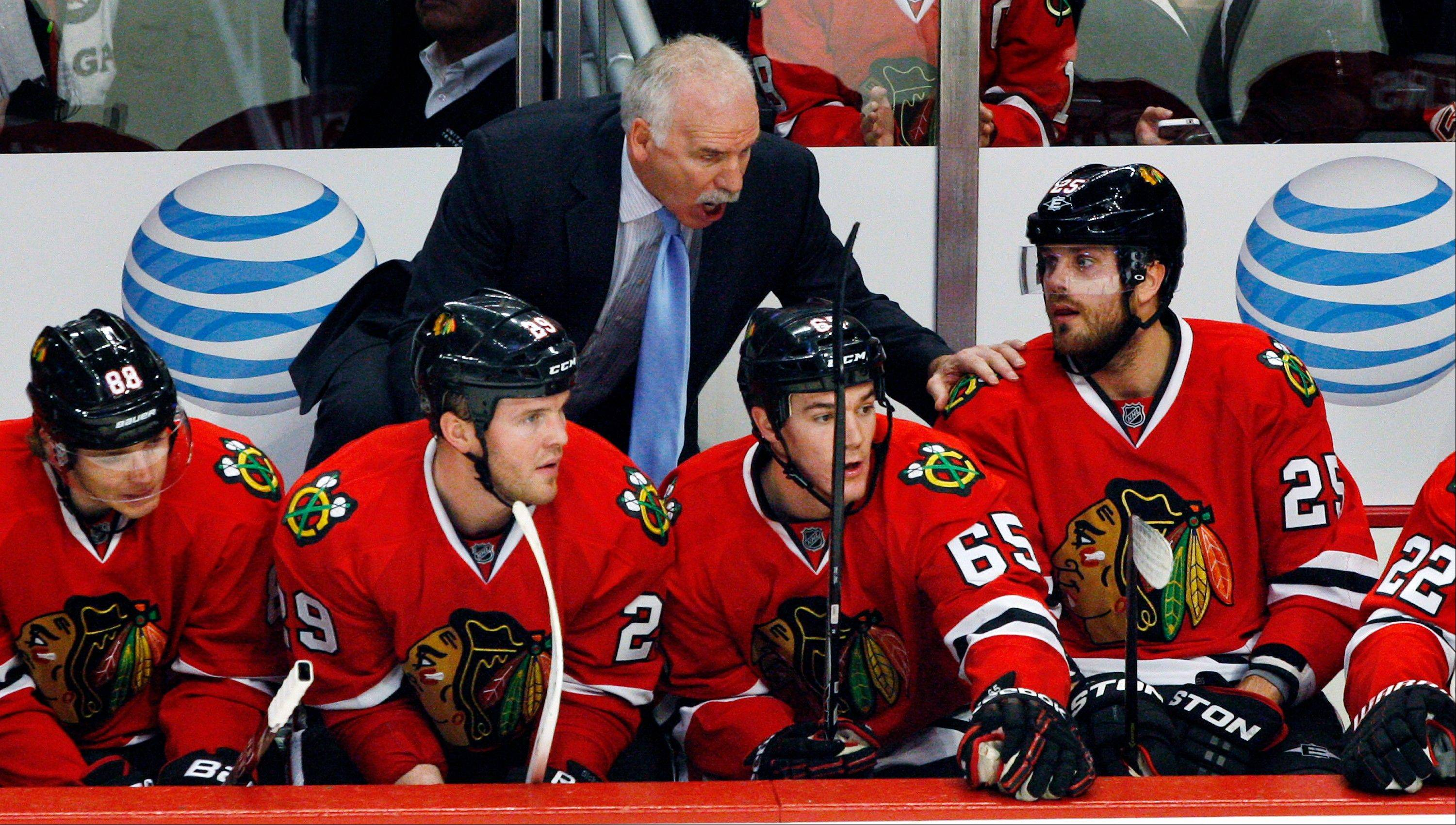 Through six games, Blackhawks coach Joel Quenneville has made all the right moves and found the right minutes for his players. The Hawks will try to extend their strong start to 7-0 Wednesday night at Minnesota.