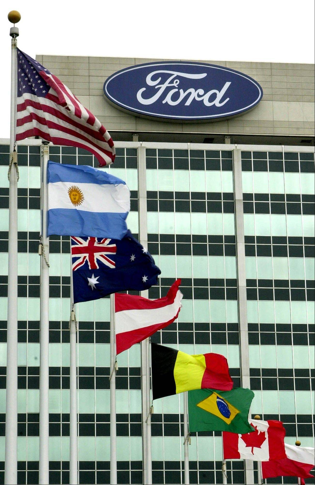 Ford earned $1.6 billion in the fourth quarter as sales rose in every region outside Europe.