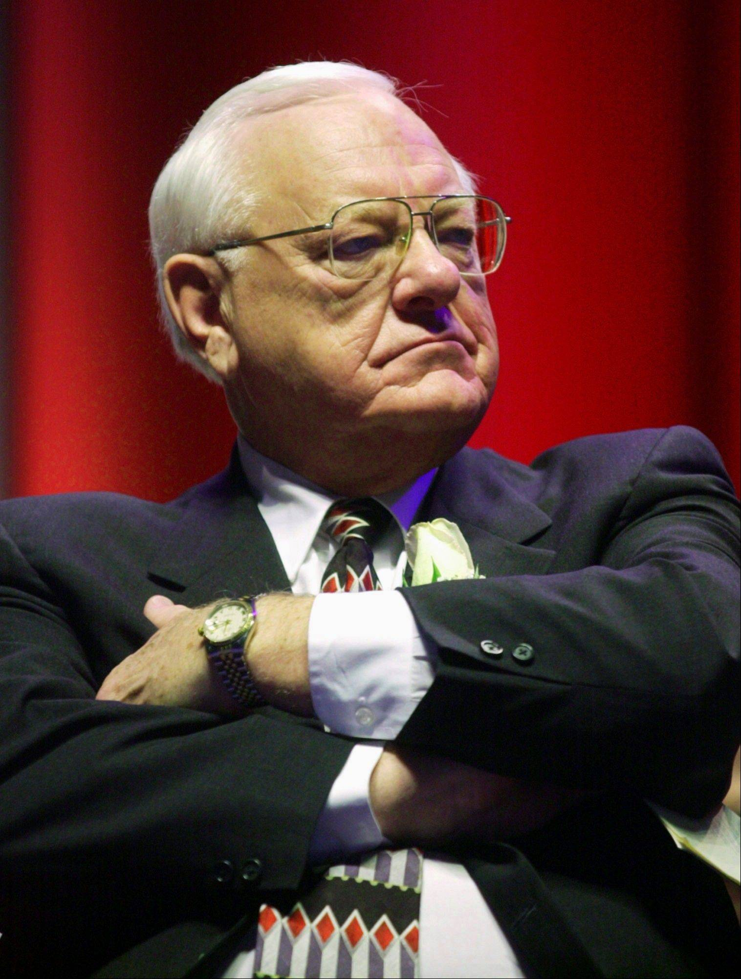 George Ryan was convicted of racketeering and fraud charges in 2006.