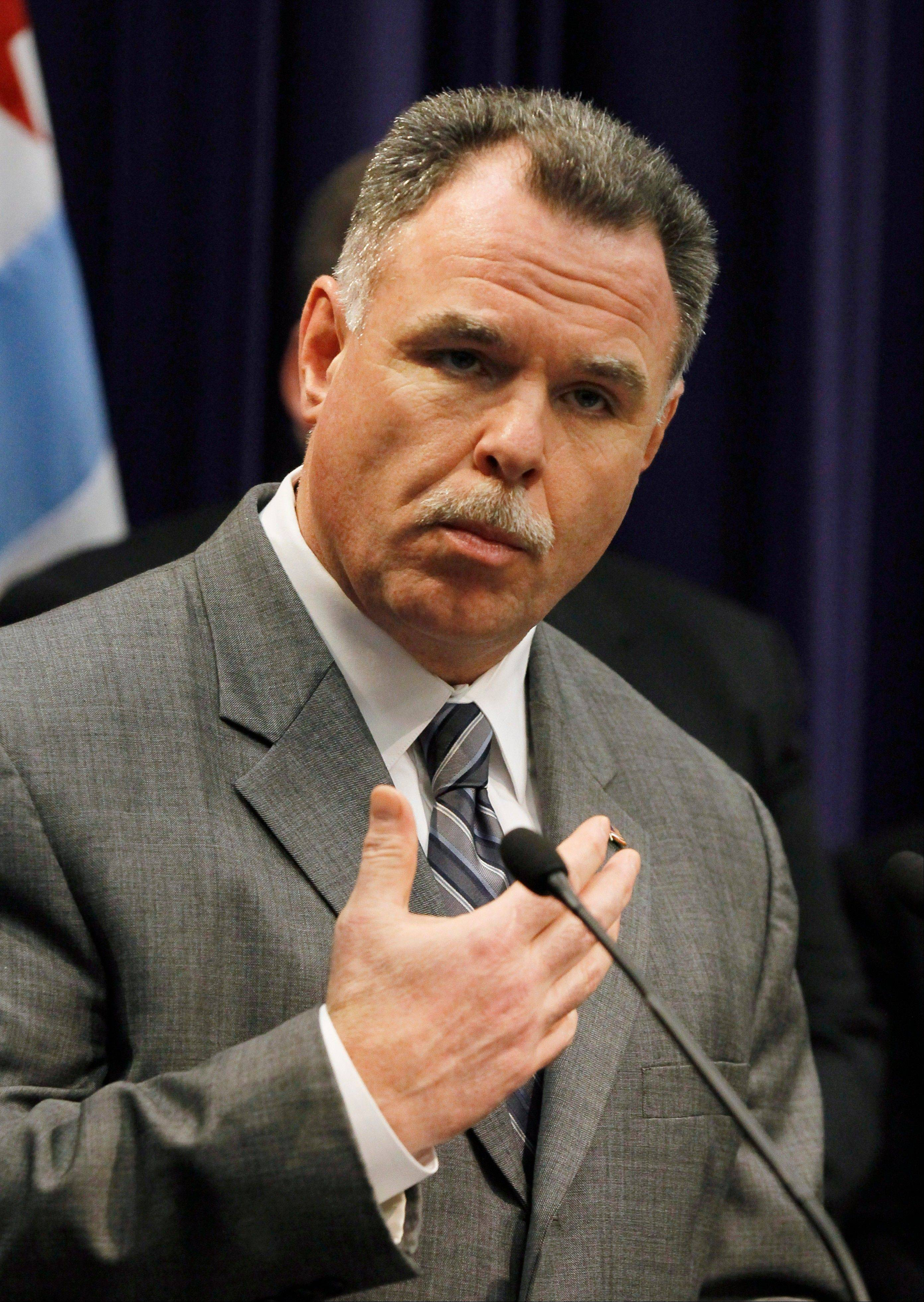 Chicago Police Superintendent Garry McCarthy