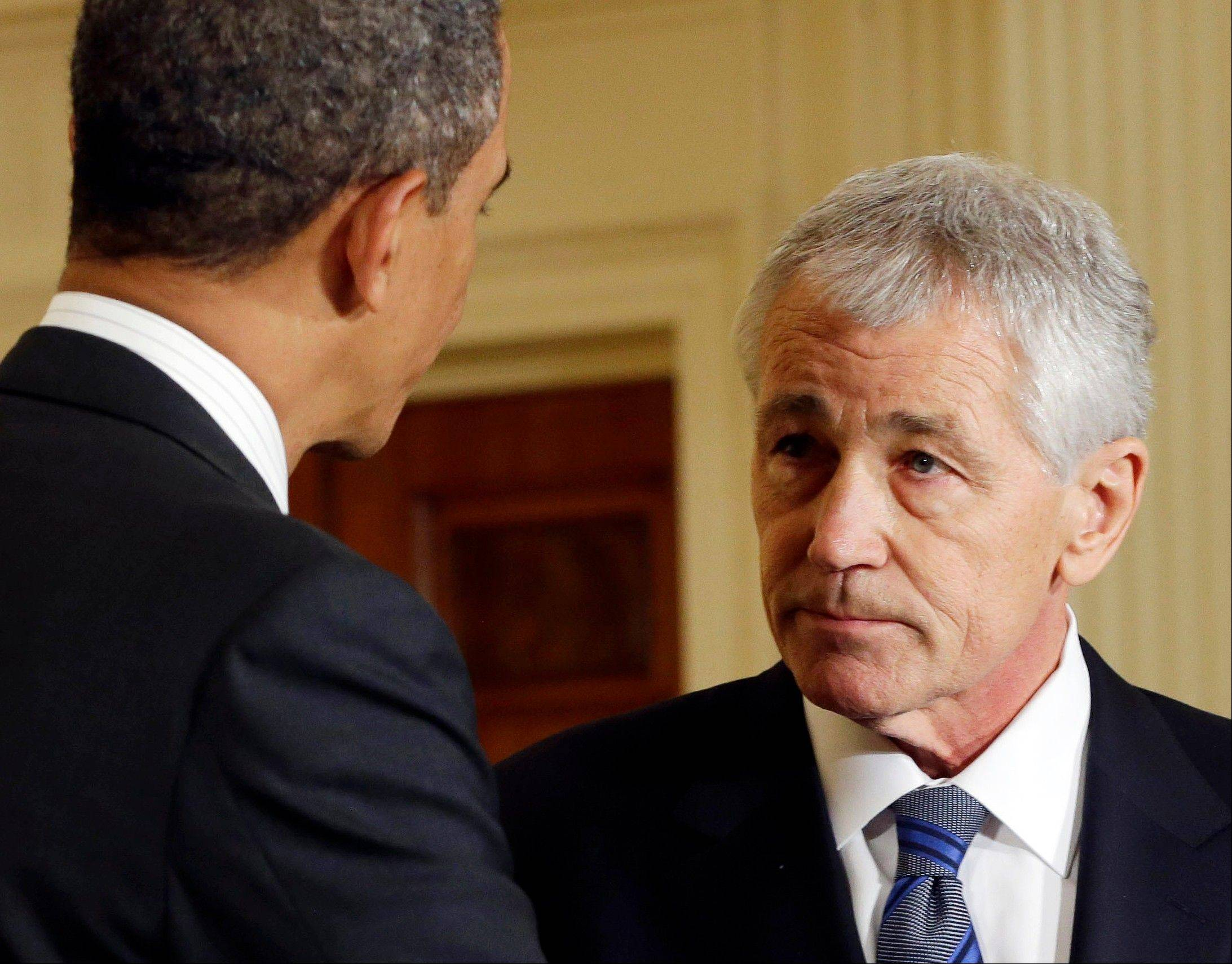 Chuck Hagel, the likely next secretary of defense, would be the first to enter the Pentagon as a public advocate for sharply reducing the number of U.S. nuclear weapons, possibly without equivalent cuts by Russia. He supports an international movement called Global Zero that favors eliminating all nuclear weapons. That puts him outside the orthodoxy embraced by many of his fellow Republicans but inside a widening circle of national security thinkers -- including President Barack Obama.