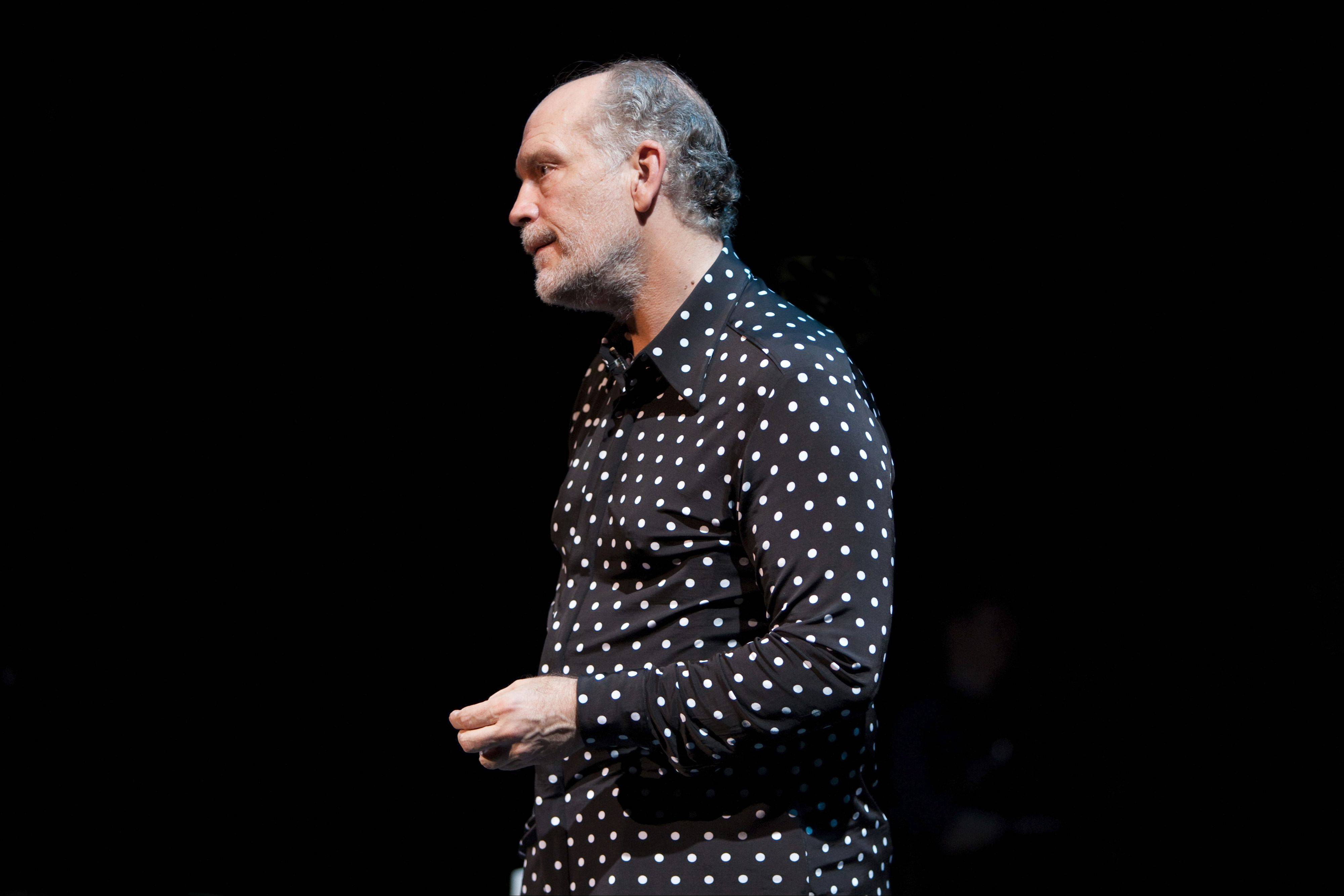 "John Malkovich stars in ""The Infernal Comedy: Confessions of a Serial Killer"" at Symphony Center in Chicago."