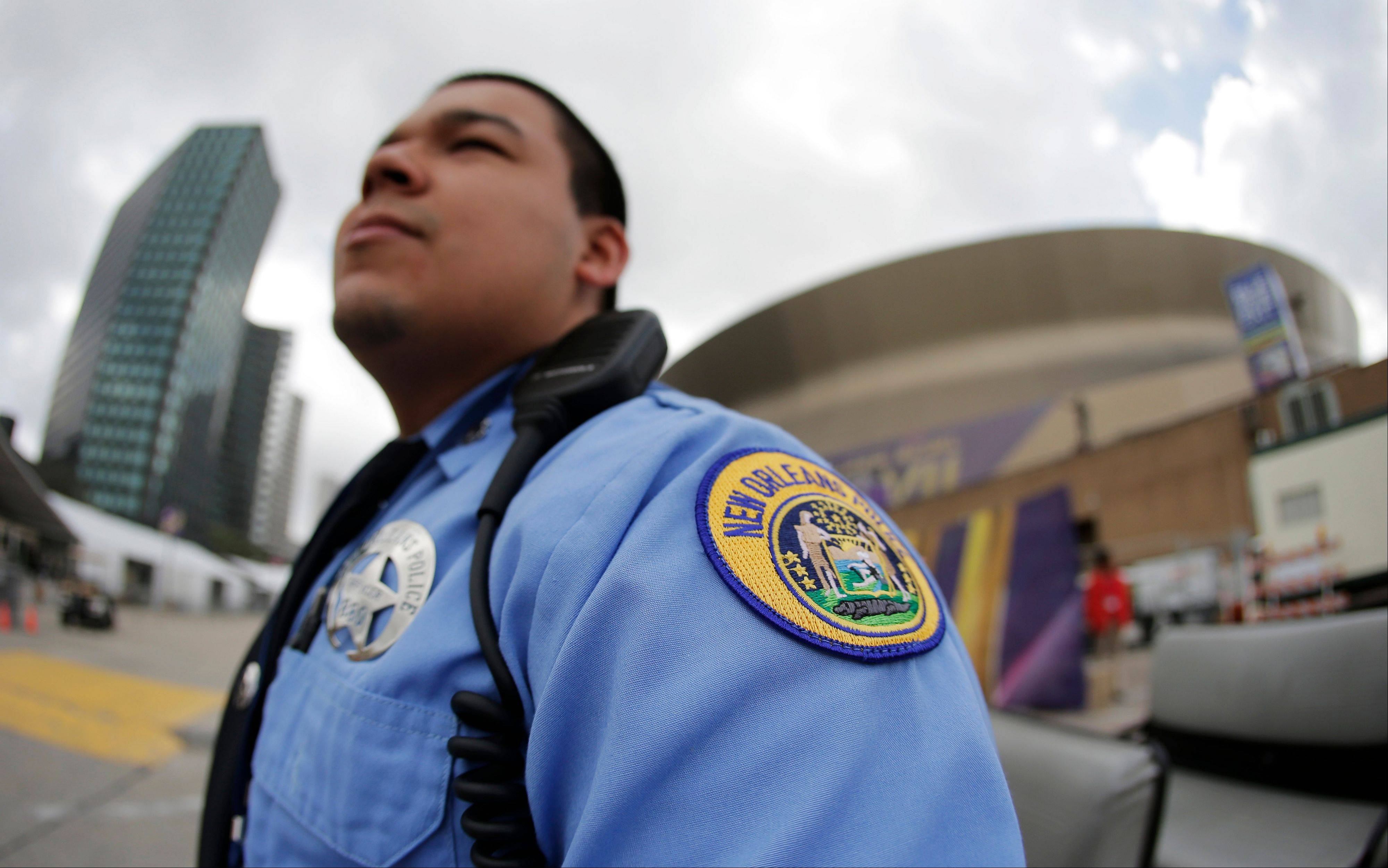 New Orleans police are in the middle of an unprecedented security challenge with an estimated 150,000 Super Bowl fans packing the city during the raucous annual buildup to Mardi Gras, when thousands of revelers flock to the historic French Quarter and its restaurants, bars and strip clubs.