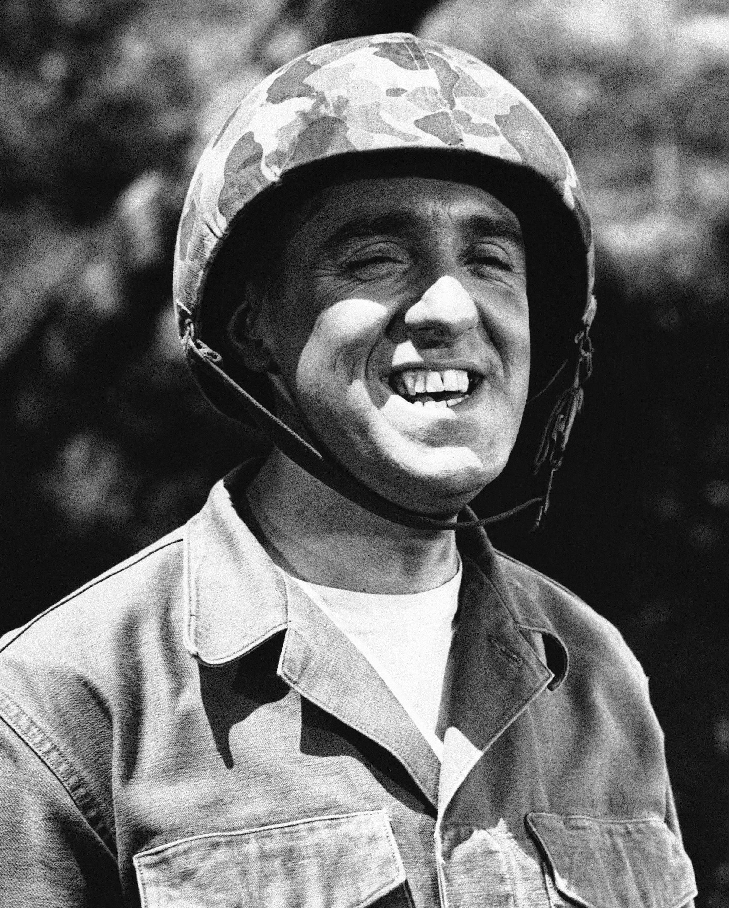 Associated Press file photo Jim Nabors is seen in character for his role of Gomer Pyle in this 1966 file photo. Jim Nabors and his partner, Stan Cadwallader, traveled from their Honolulu home to Seattle to be married Jan. 15, 2013.