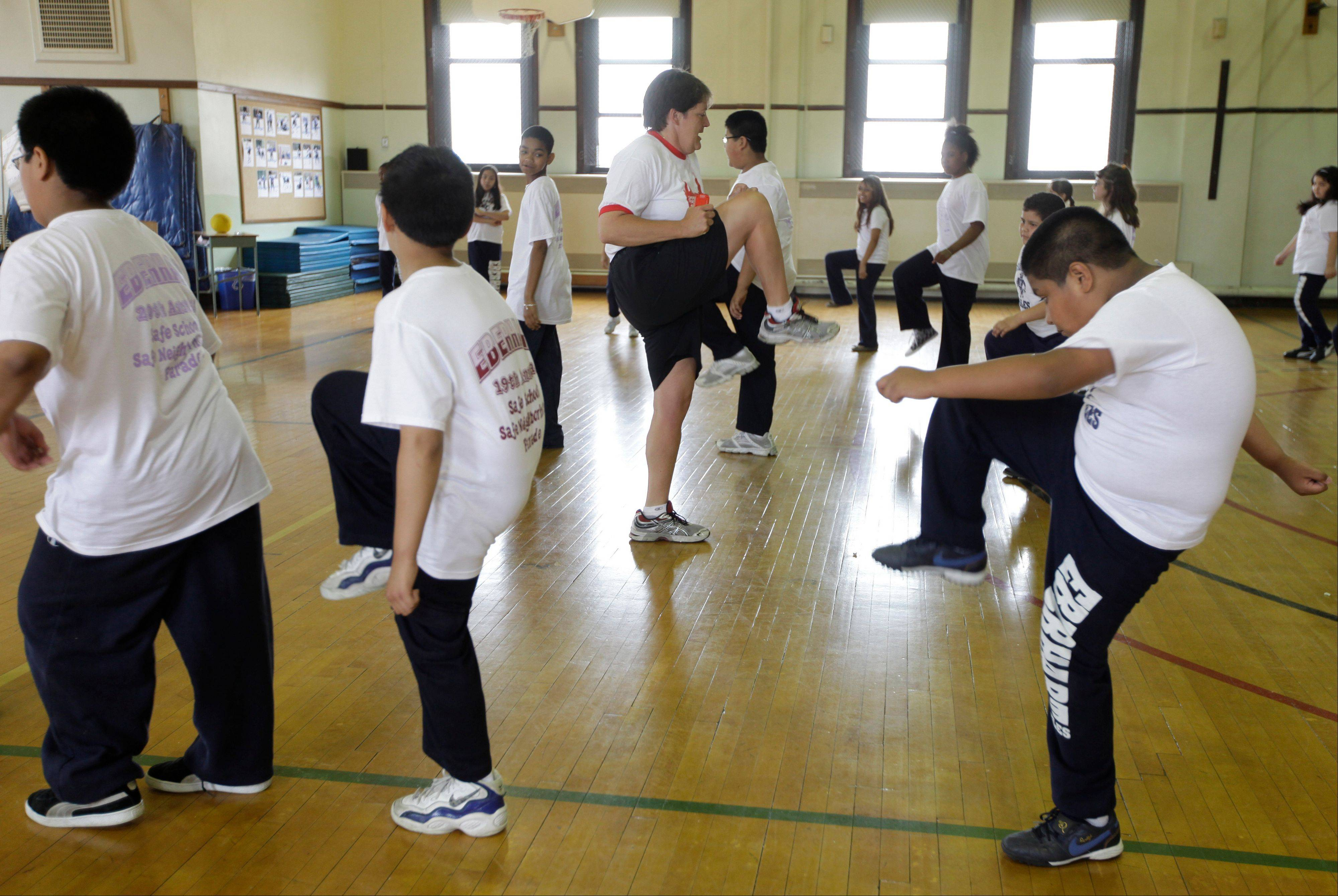 Conventional wisdom says school gym classes make a big difference in kids' weight. But a report in the Thursday's issue of the New England Journal of Medicine says gym classes often are not long, often or intense enough to make much difference.