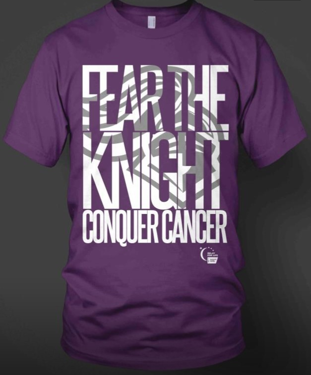 Fear the Knight T-shirts will be sold for $10 each.