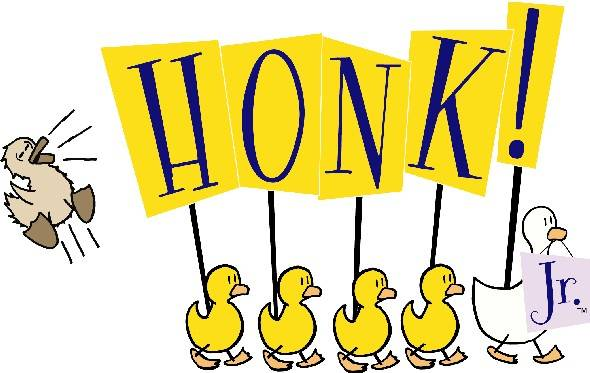 Honk Jr. Logo