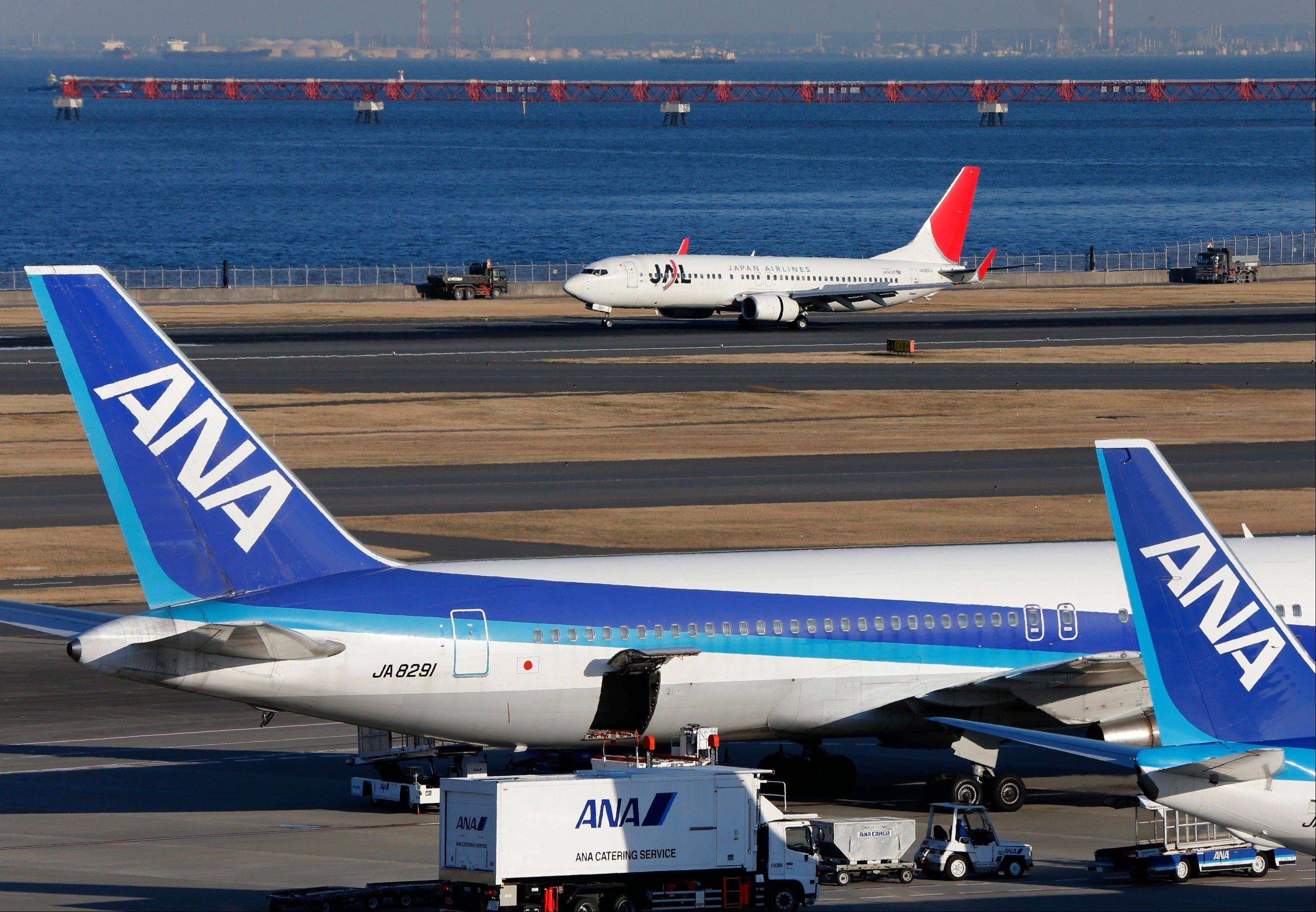 Japan�s All Nippon Airways is prepared to recoup from Boeing whatever damages it suffers from flight cancellations and other costs caused by the worldwide grounding of 787 jets,