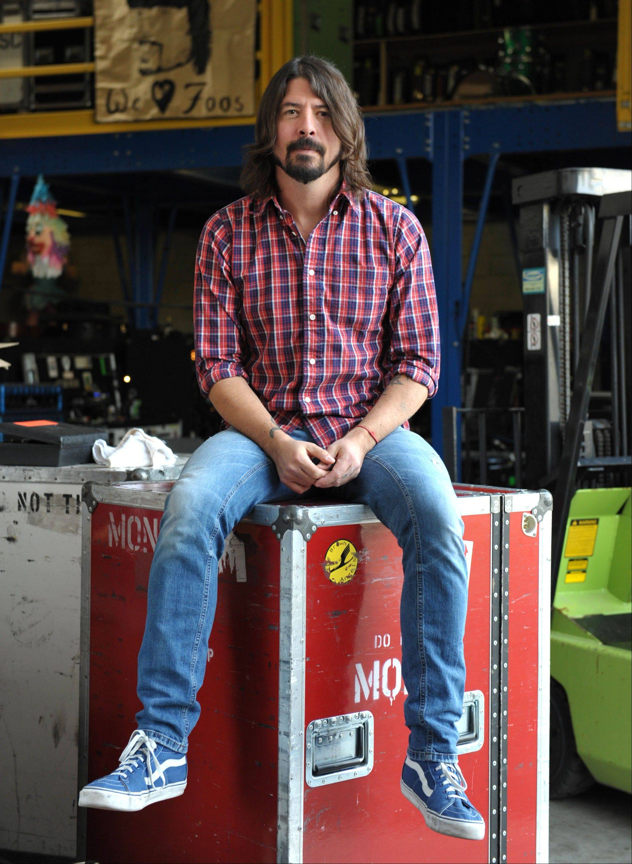 "Rock musician Dave Grohl has turned to movies and a colorful piece of music history with ""Sound City."""