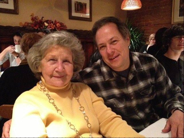 During this dinner out two months ago, Mom and I both managed smiles even though we knew our family's deadly 86th-birthday curse was looming.