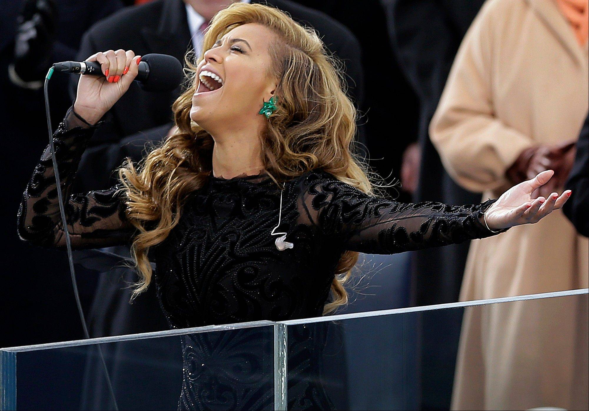 "Beyoncé is expected to face the media Thursday as she previews her halftime performance at the Super Bowl. But the focus will likely be on her performance at that other big event earlier this month. The superstar hasn't spoken publicly since it was alleged that she lip-synced her rendition of ""The Star-Spangled Banner"" at President Barack Obama's inauguration last week."
