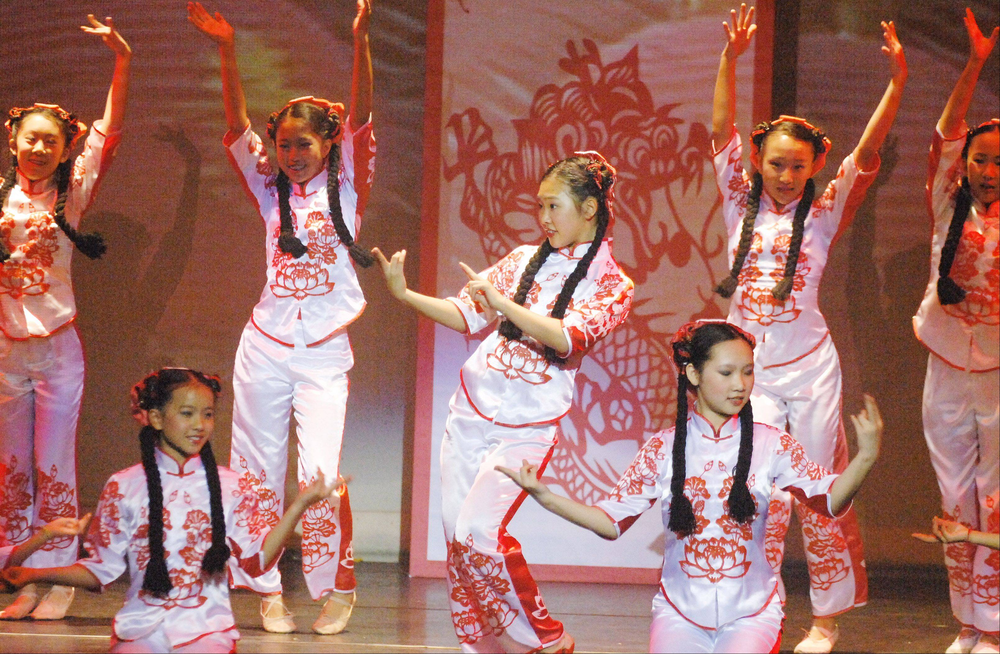 See traditional Chinese dancing at North Central College Saturday.