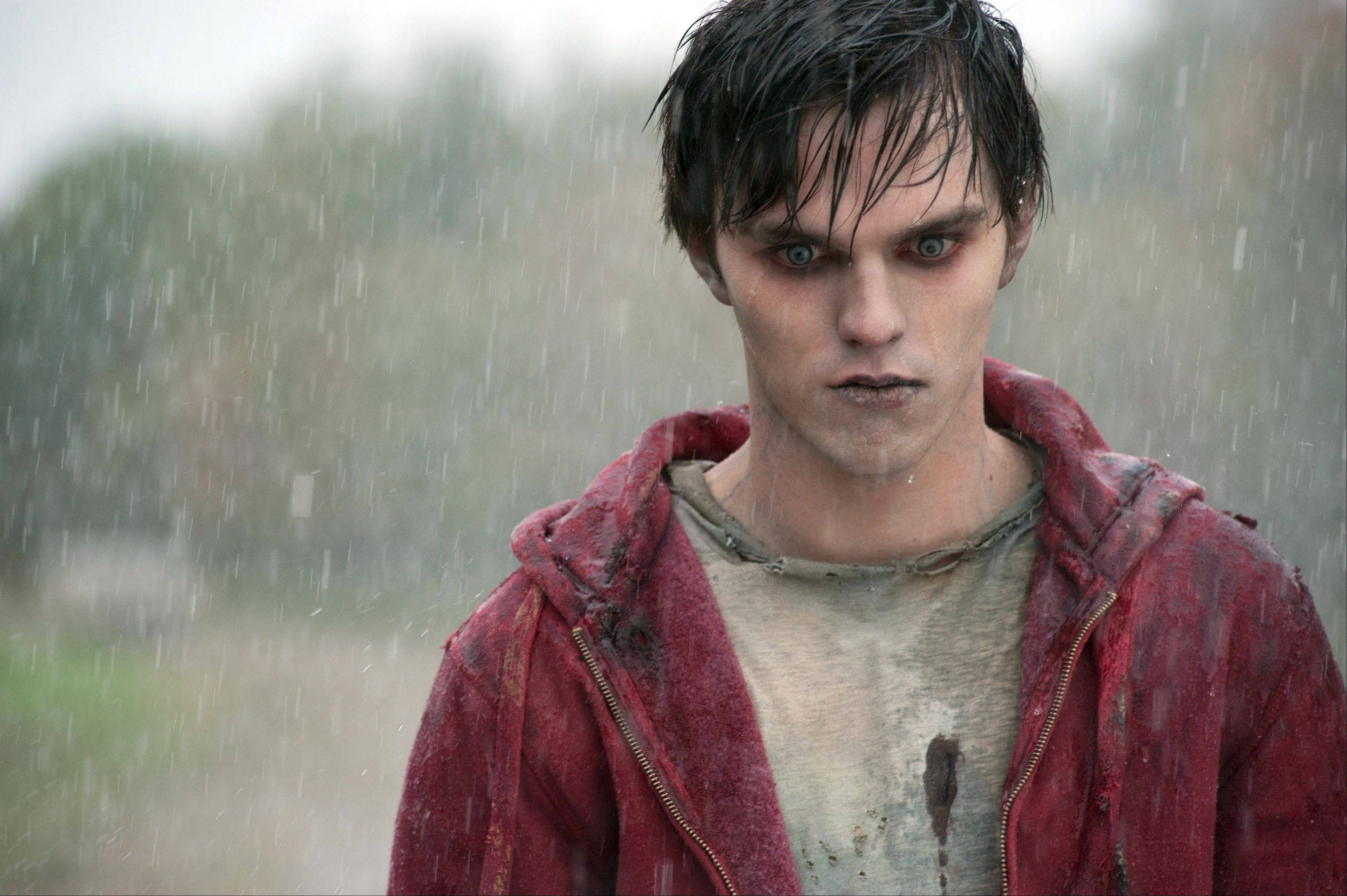 "A zombie named R (Nicholas Hoult) narrates his thoughts about a post-apocalyptic world in Jonathan Levine's ""Warm Bodies."""