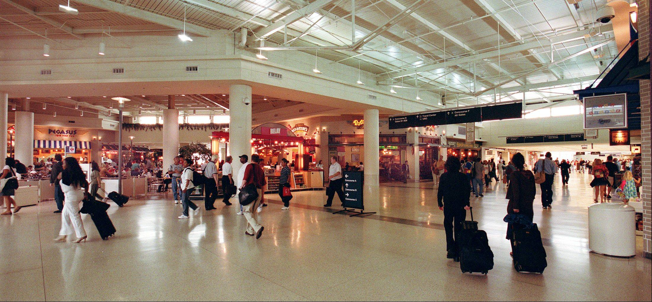 Daily Herald File Photo Improvements to Midway in the 2000s transformed the airport.