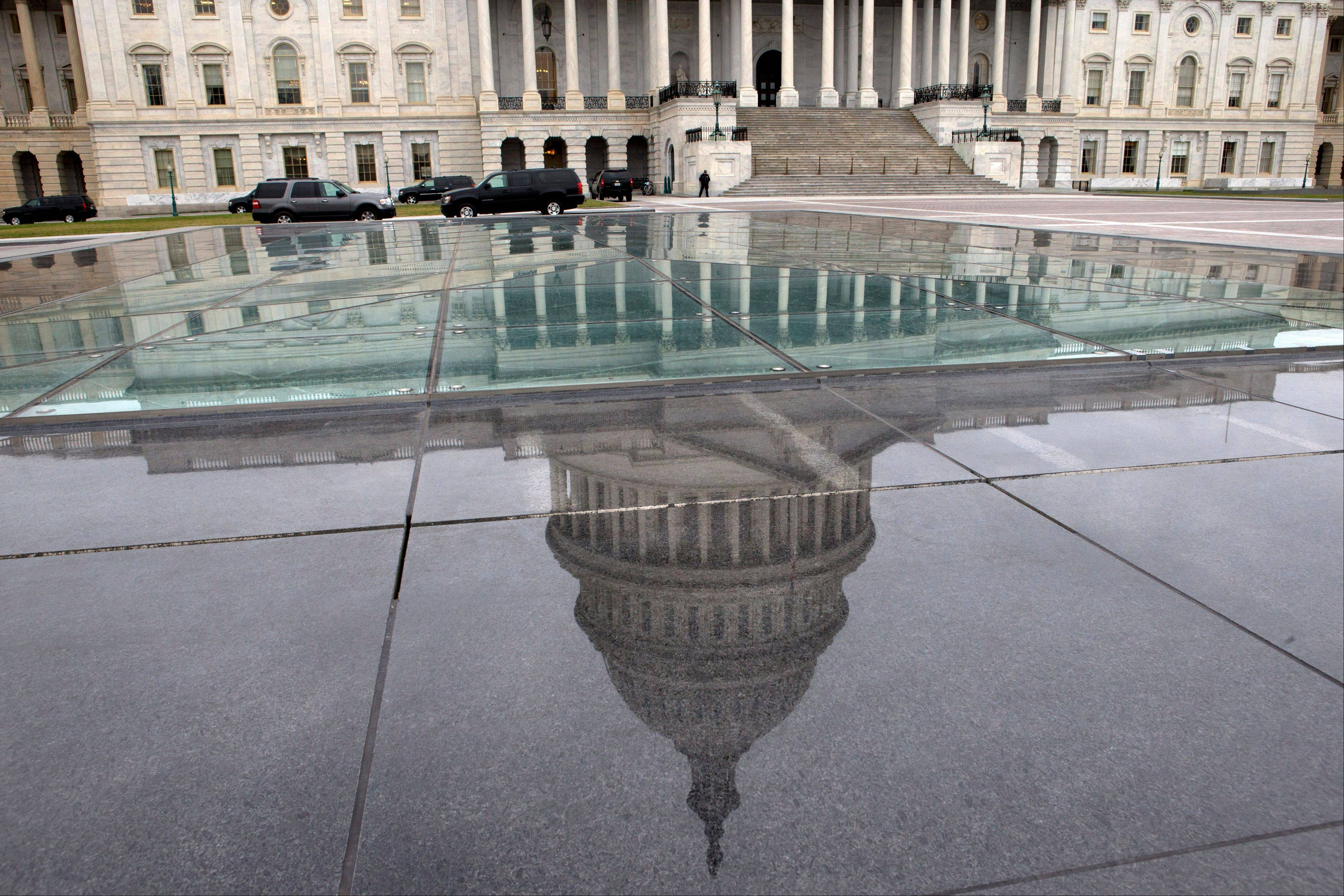 The Senate Thursday passed must-do legislation Thursday to permit the government to borrow hundreds of billions of dollars more to meet its obligations, putting off one Washington showdown even as others loom in coming weeks.