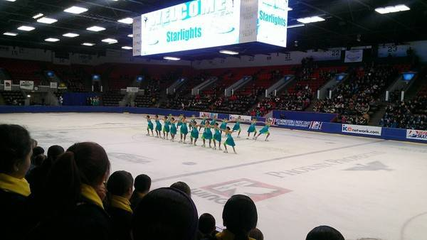Five Starlights Teams qualified for the U.S. Synchronized Skating Championships following sectional performances in Kalamazoo, Mich.
